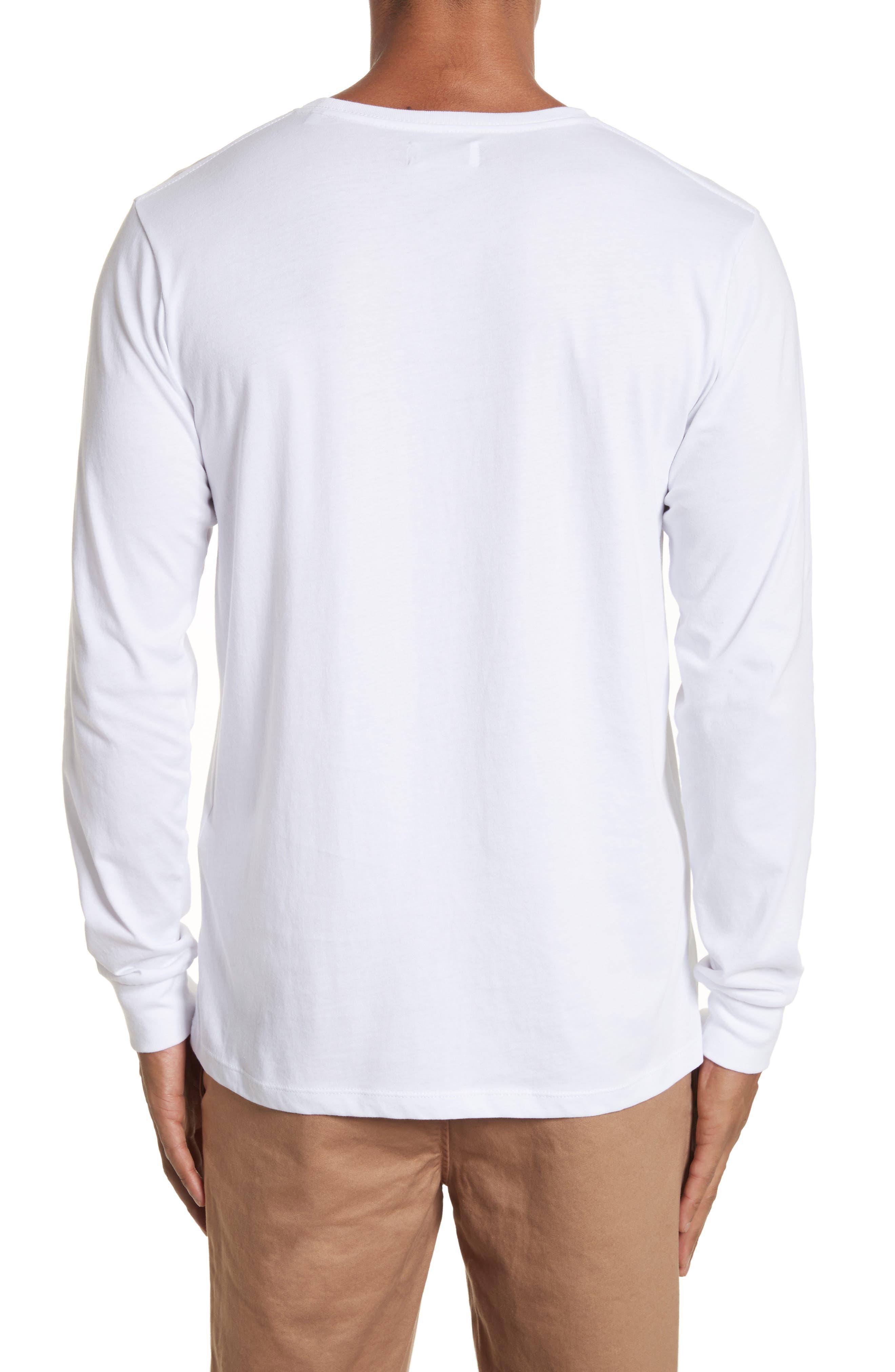 Alternate Image 2  - Saturdays NYC Stacked Logo Graphic Long Sleeve T-Shirt