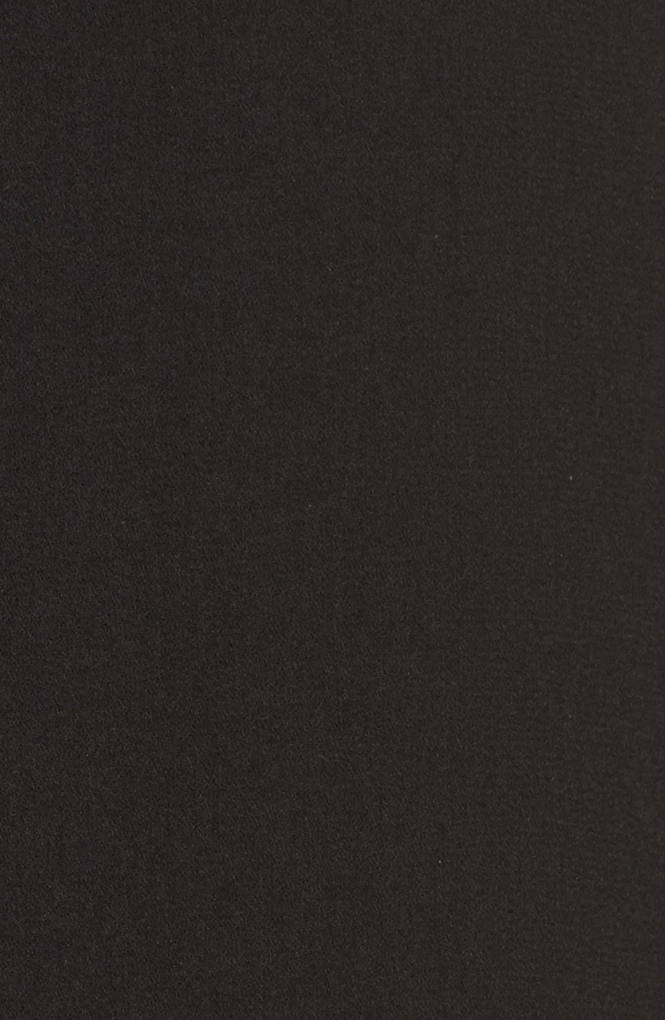 Longline Blazer,                             Alternate thumbnail 5, color,                             Black