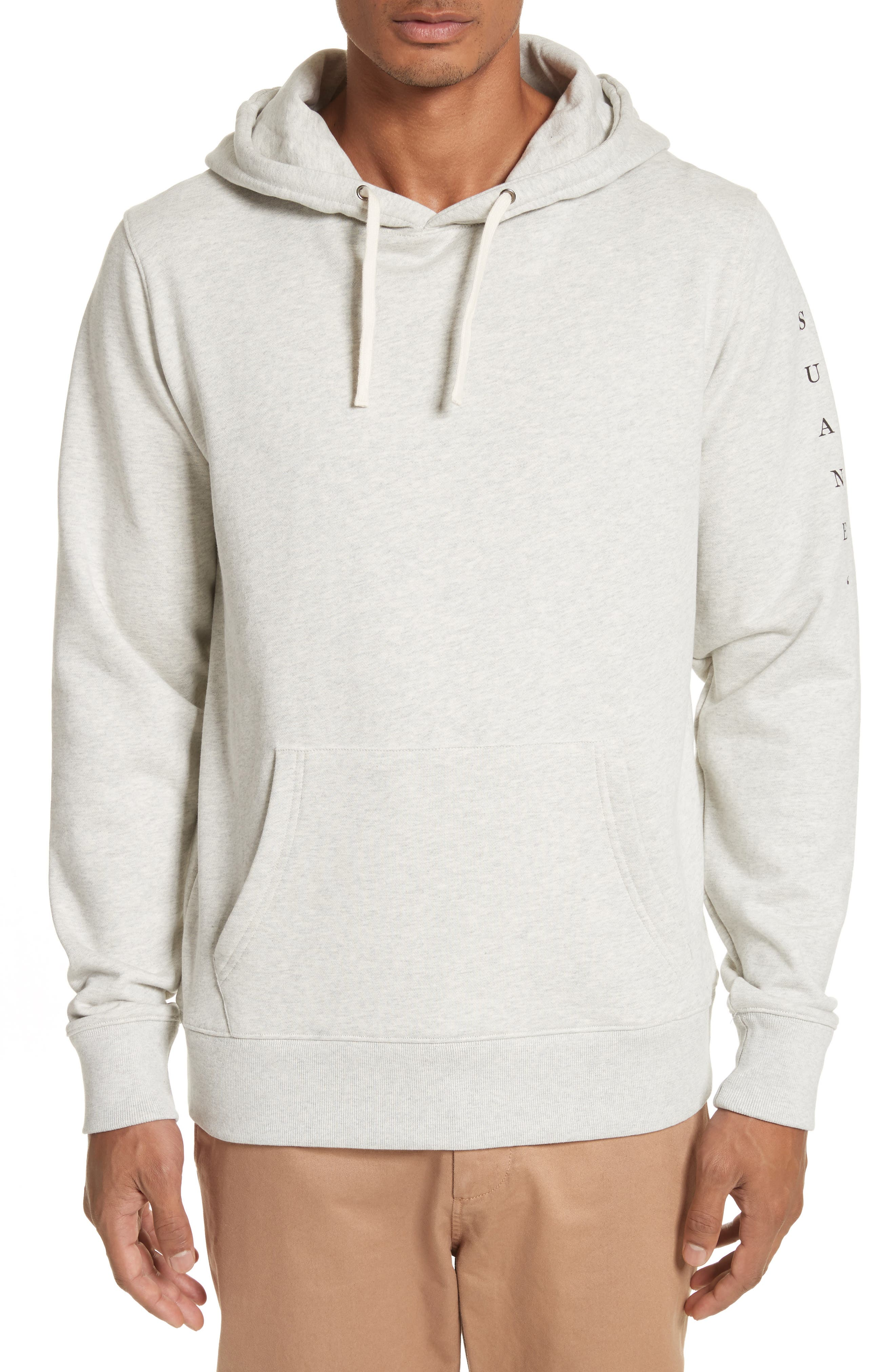Ditch Stacked Hoodie,                         Main,                         color, Natural Heather