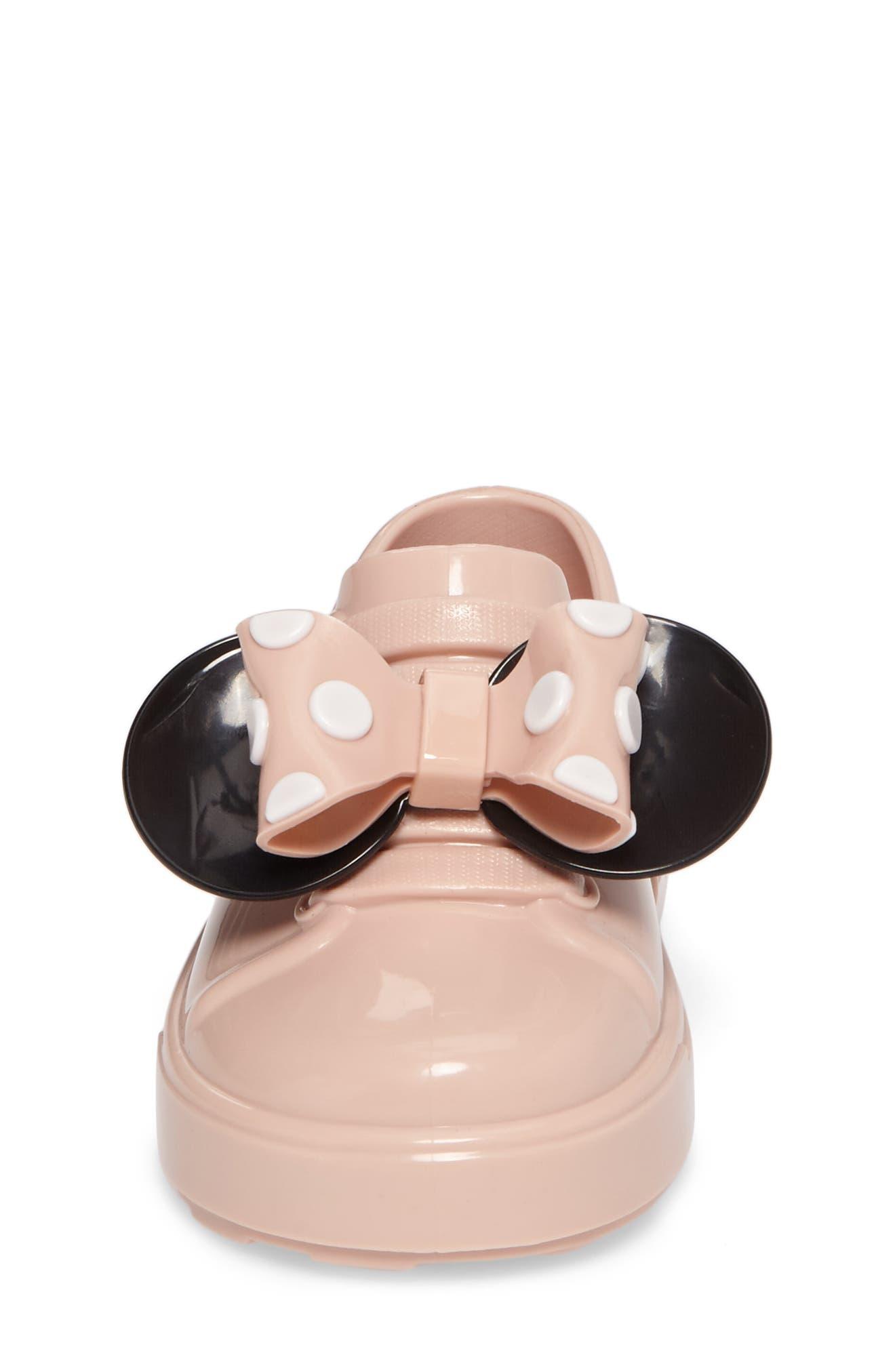 Alternate Image 4  - Mini Melissa Disney® Be Minnie Slip-On Sneaker (Walker & Toddler)