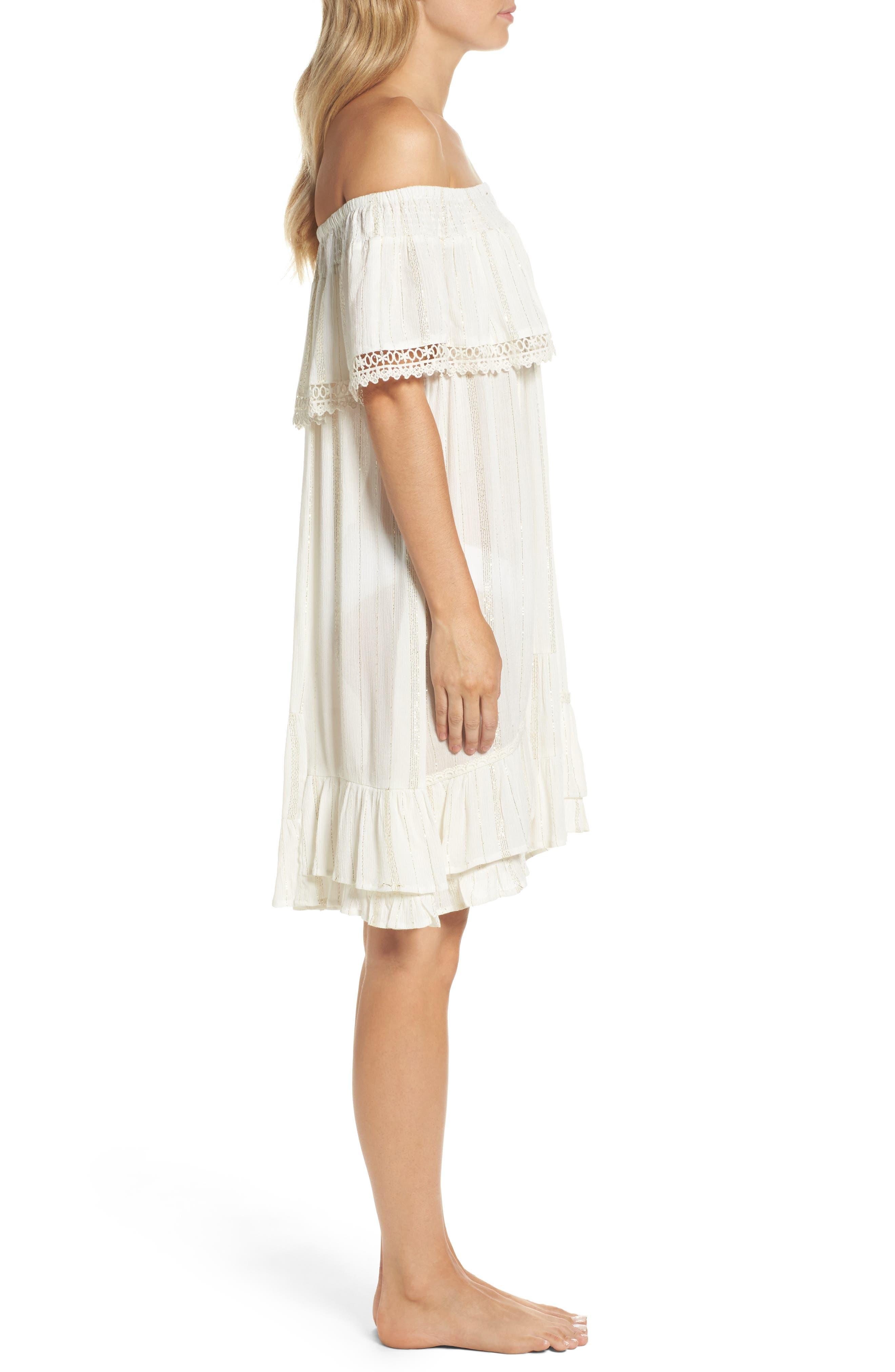 Alternate Image 3  - Muche et Muchette Iris Ruffle Cover-Up Dress