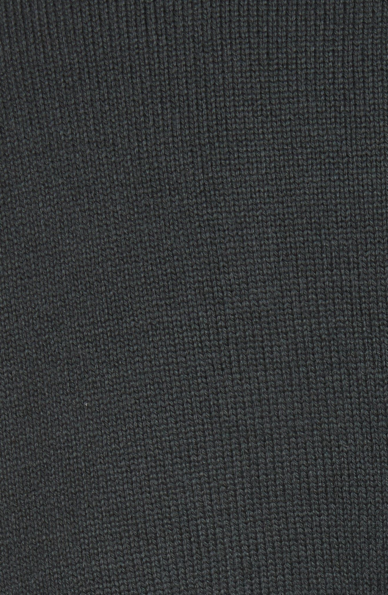Alternate Image 5  - Undercover Ruffled Mock Neck Sweater