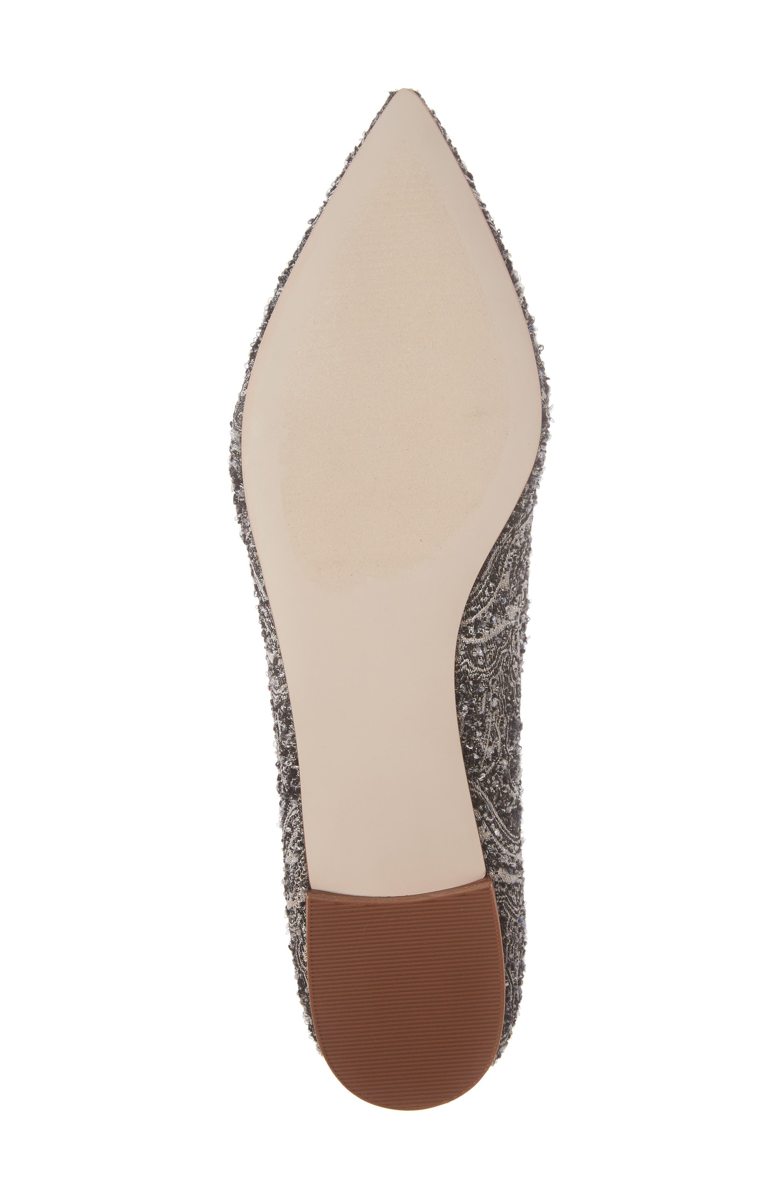 Alternate Image 6  - Sole Society Libry Crystal Embellished Flat (Women)