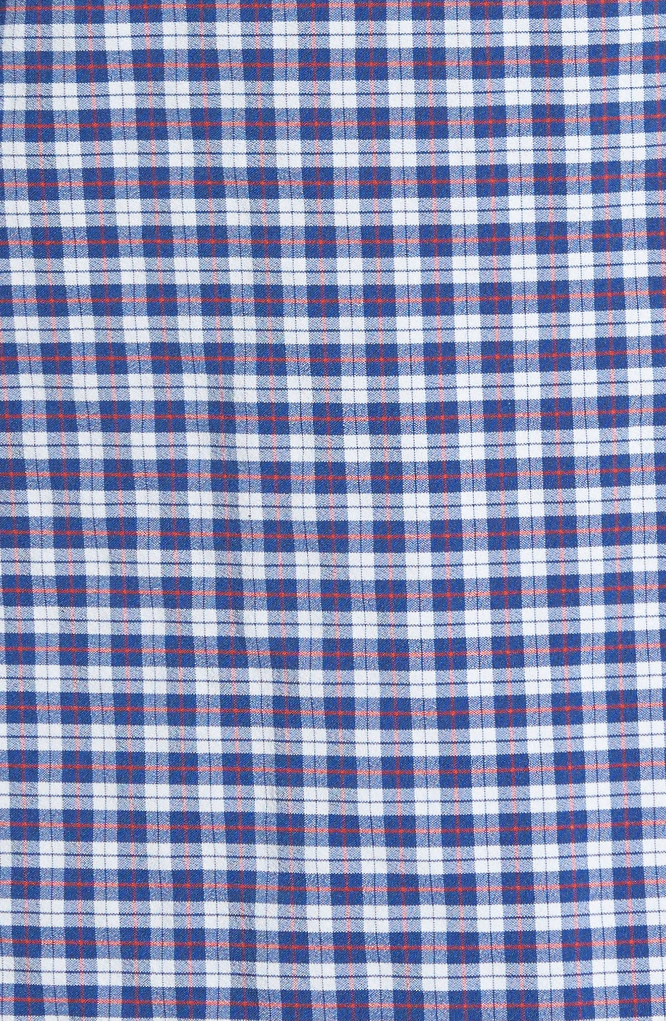 Howe 2.0 Plaid Sport Shirt,                             Alternate thumbnail 5, color,                             Multi