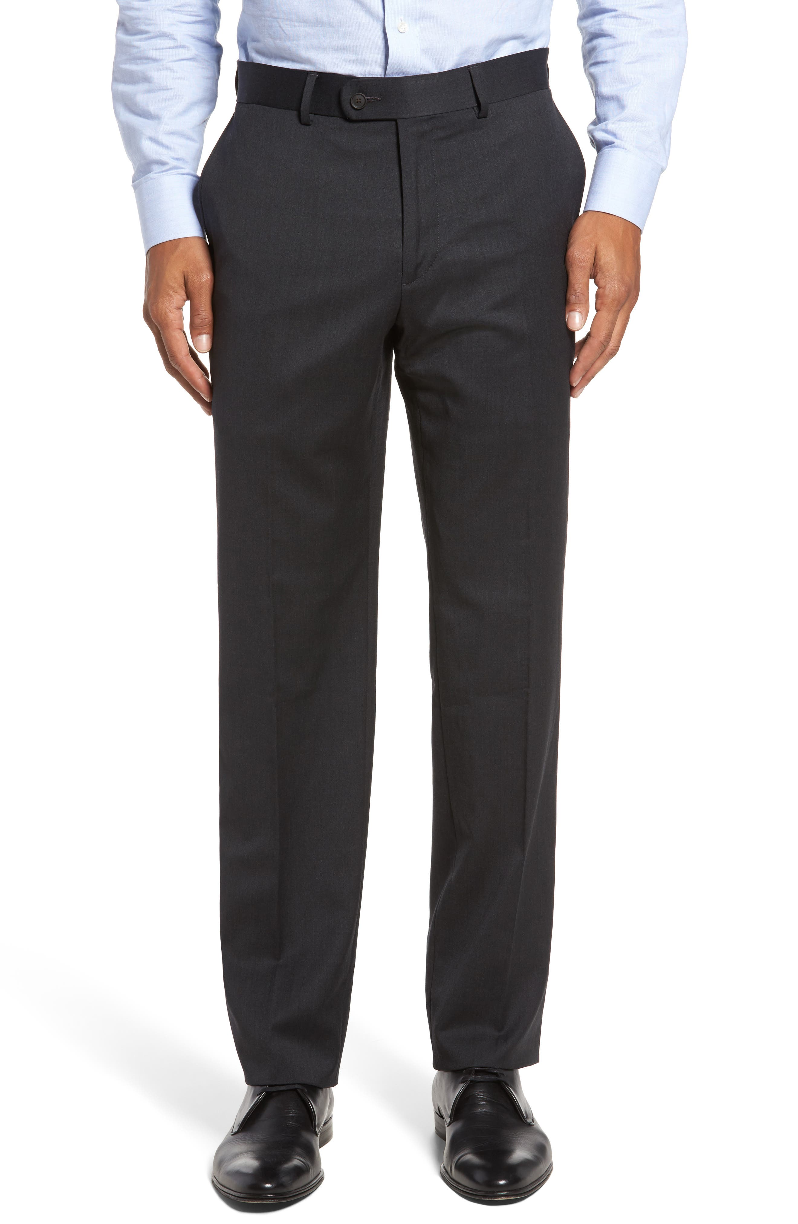 Keidis Aim Classic Fit Stretch Wool Suit,                             Alternate thumbnail 6, color,                             Charcoal