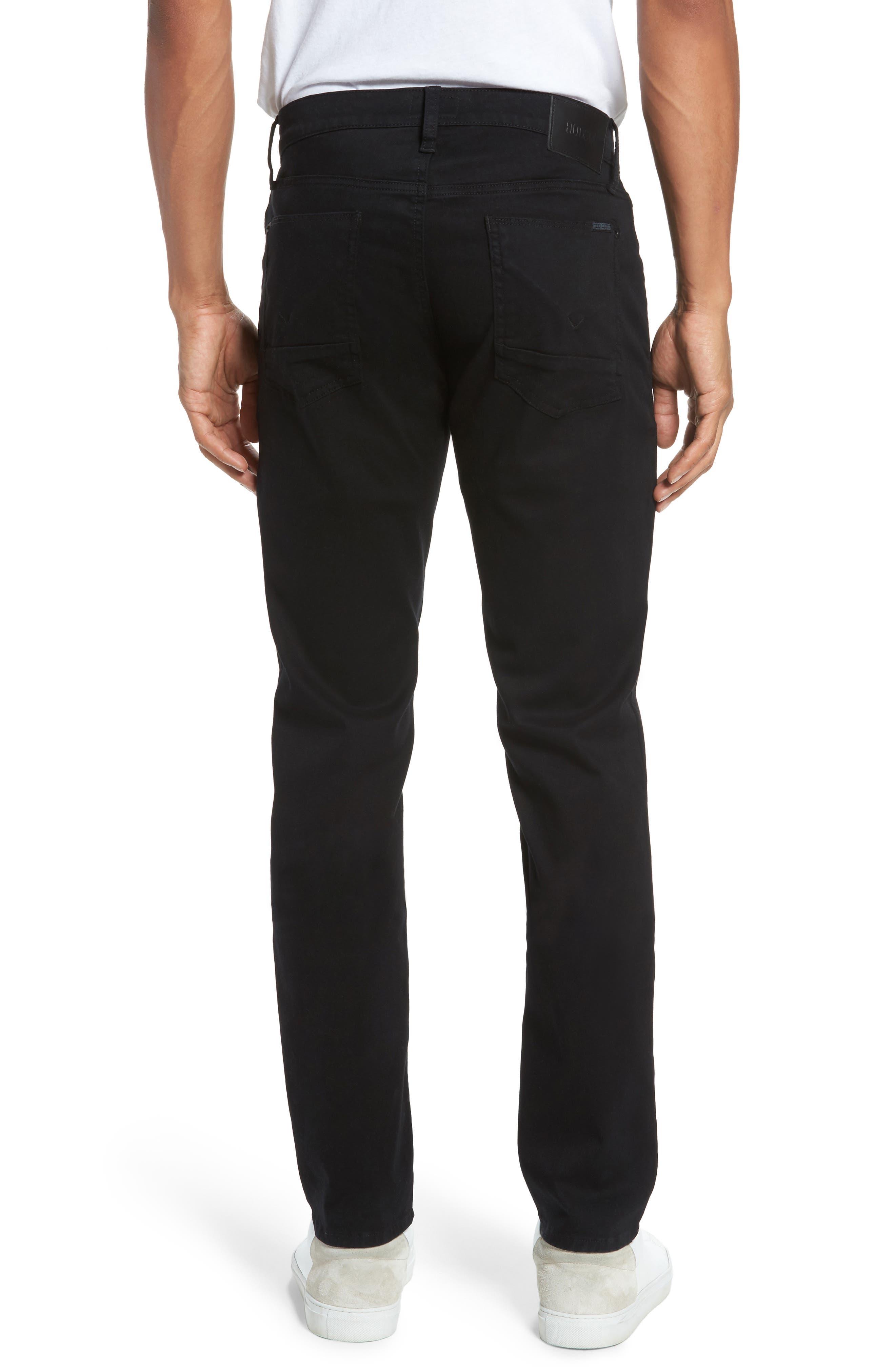 Alternate Image 2  - Hudson Jeans Blake Slim Fit Jeans (Blackened)