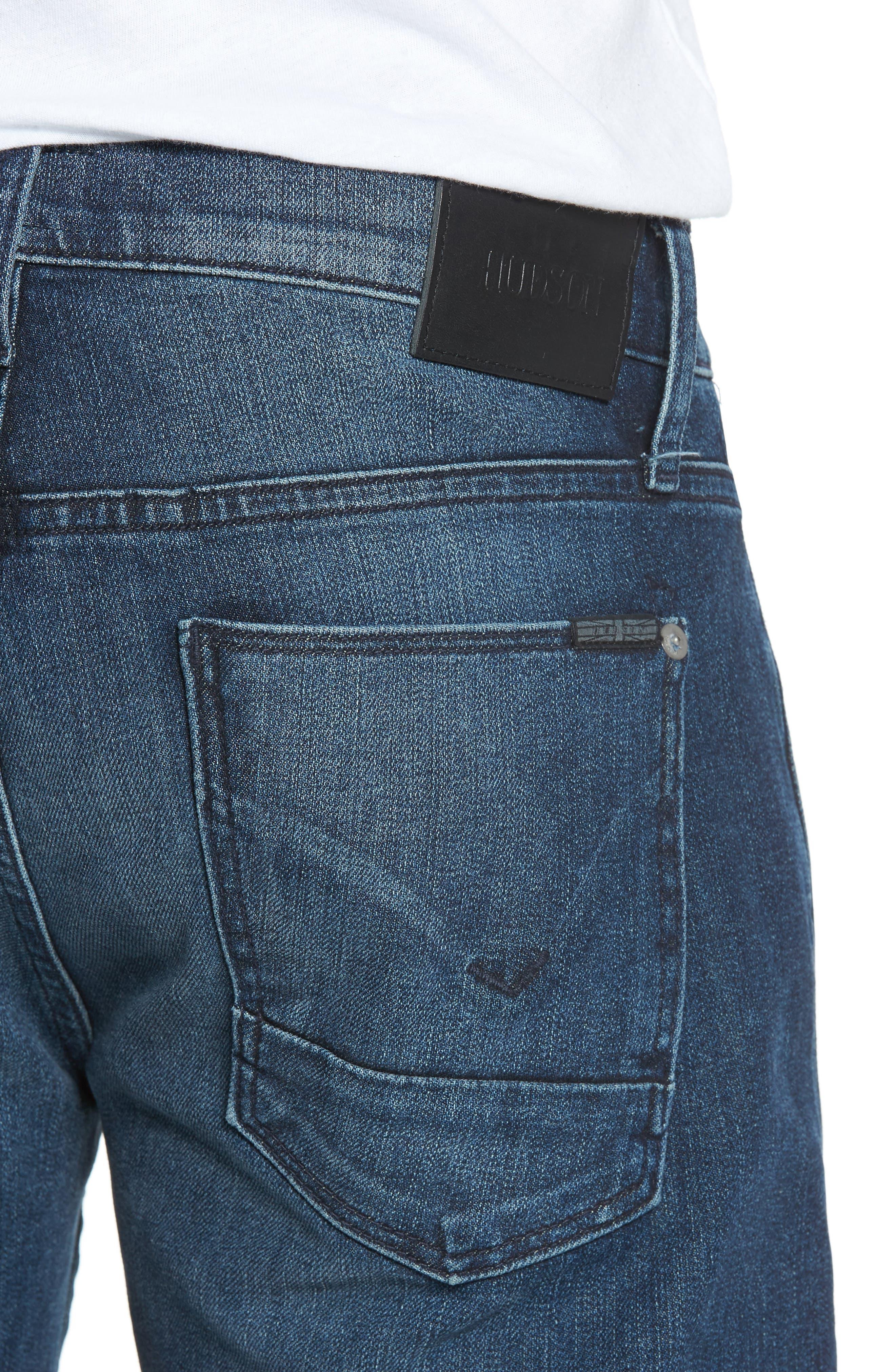 Blake Slim Fit Jeans,                             Alternate thumbnail 4, color,                             Regret