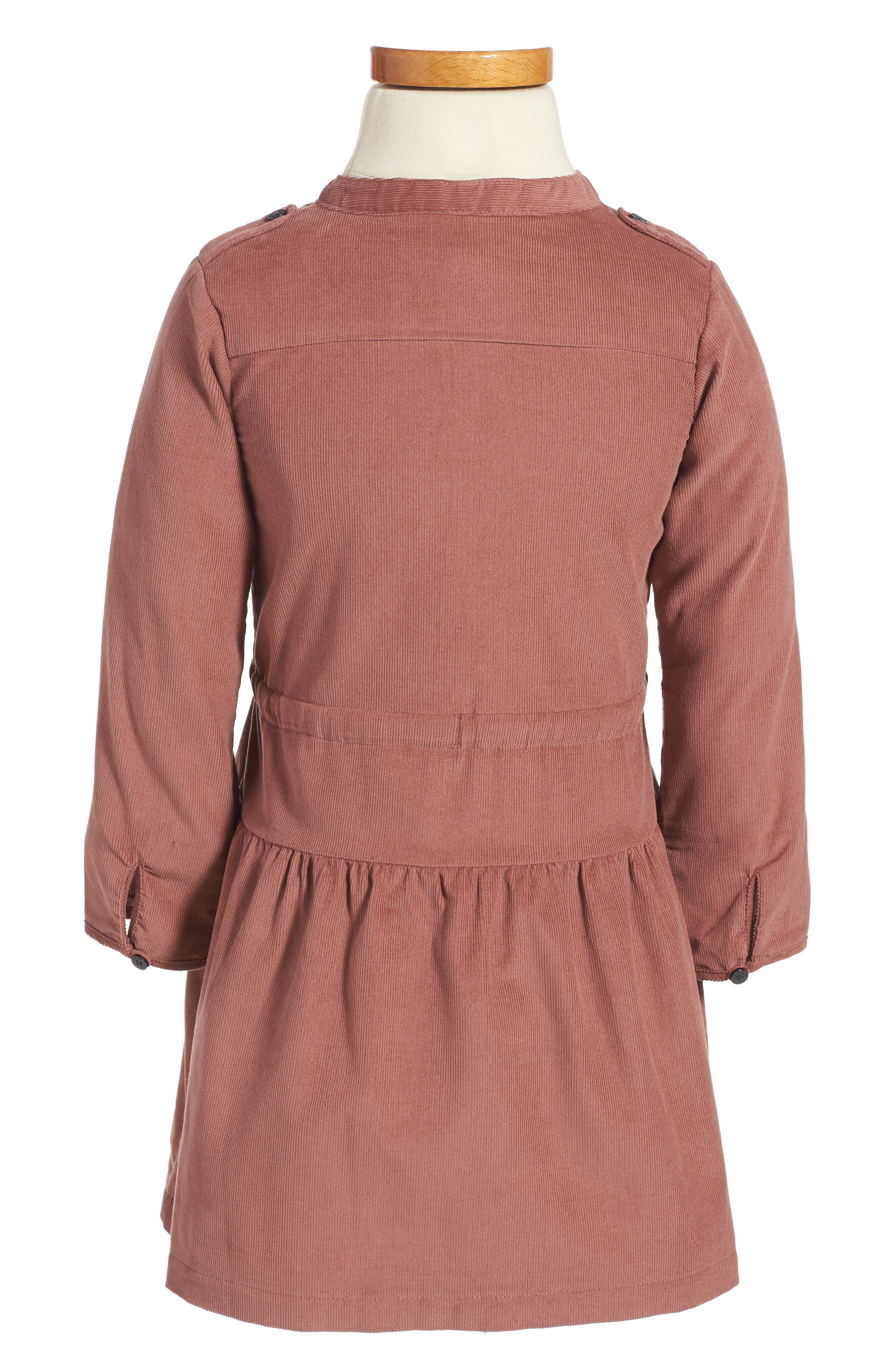 Alternate Image 2  - Burberry Mini Celestine Corduroy Dress (Toddler Girls)