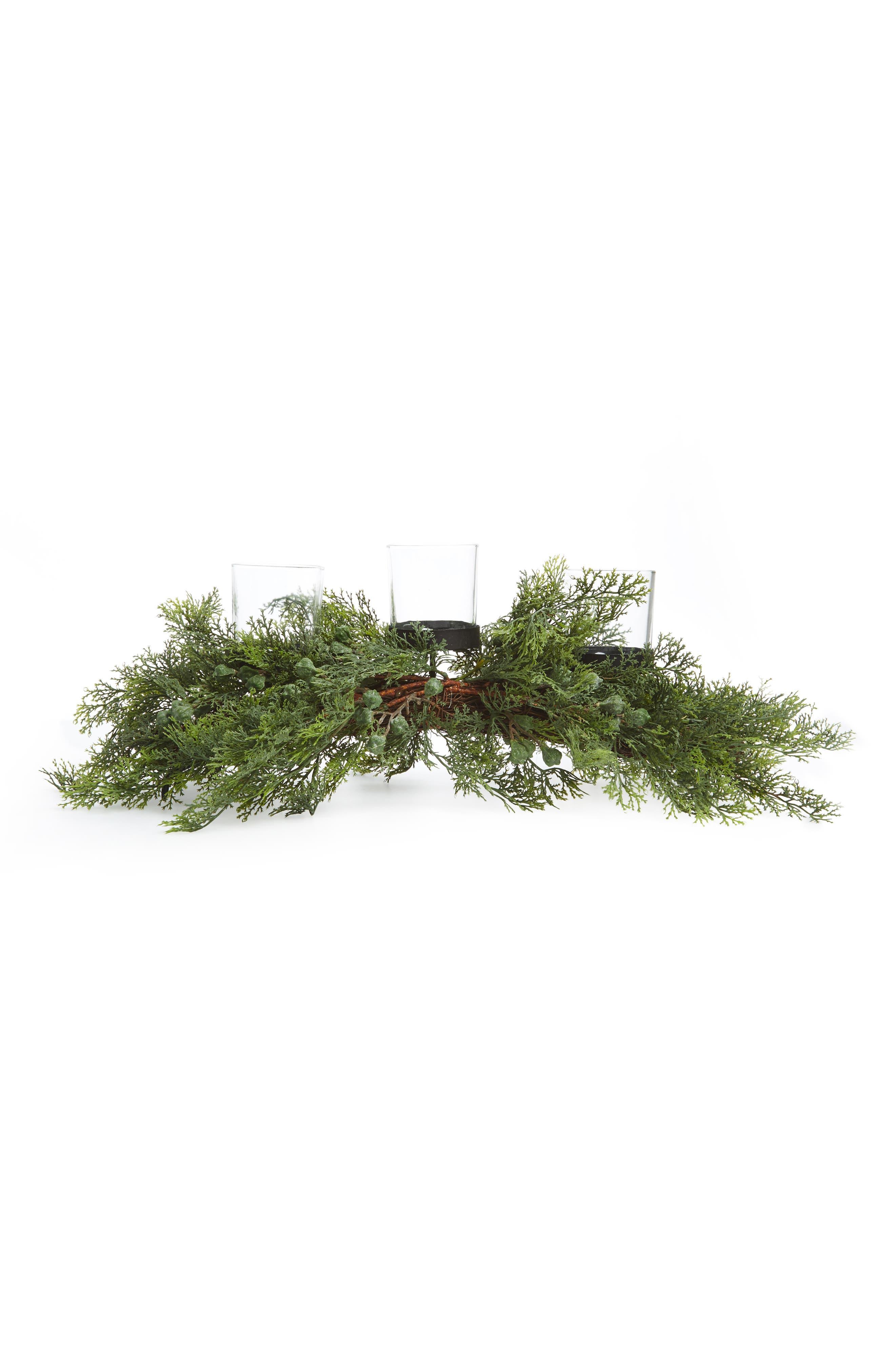 ALLSTATE Juniper Pine Candle Holder