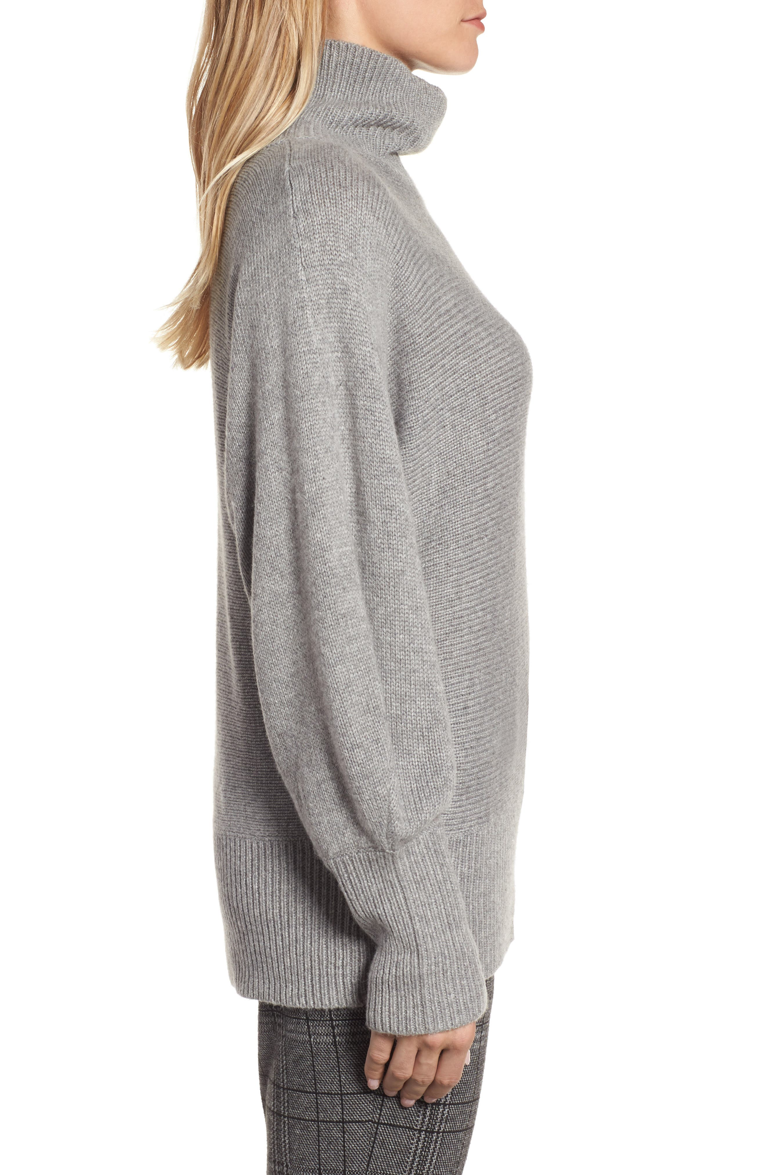Alternate Image 3  - Halogen® Blouson Sleeve Sweater (Regular & Petite)