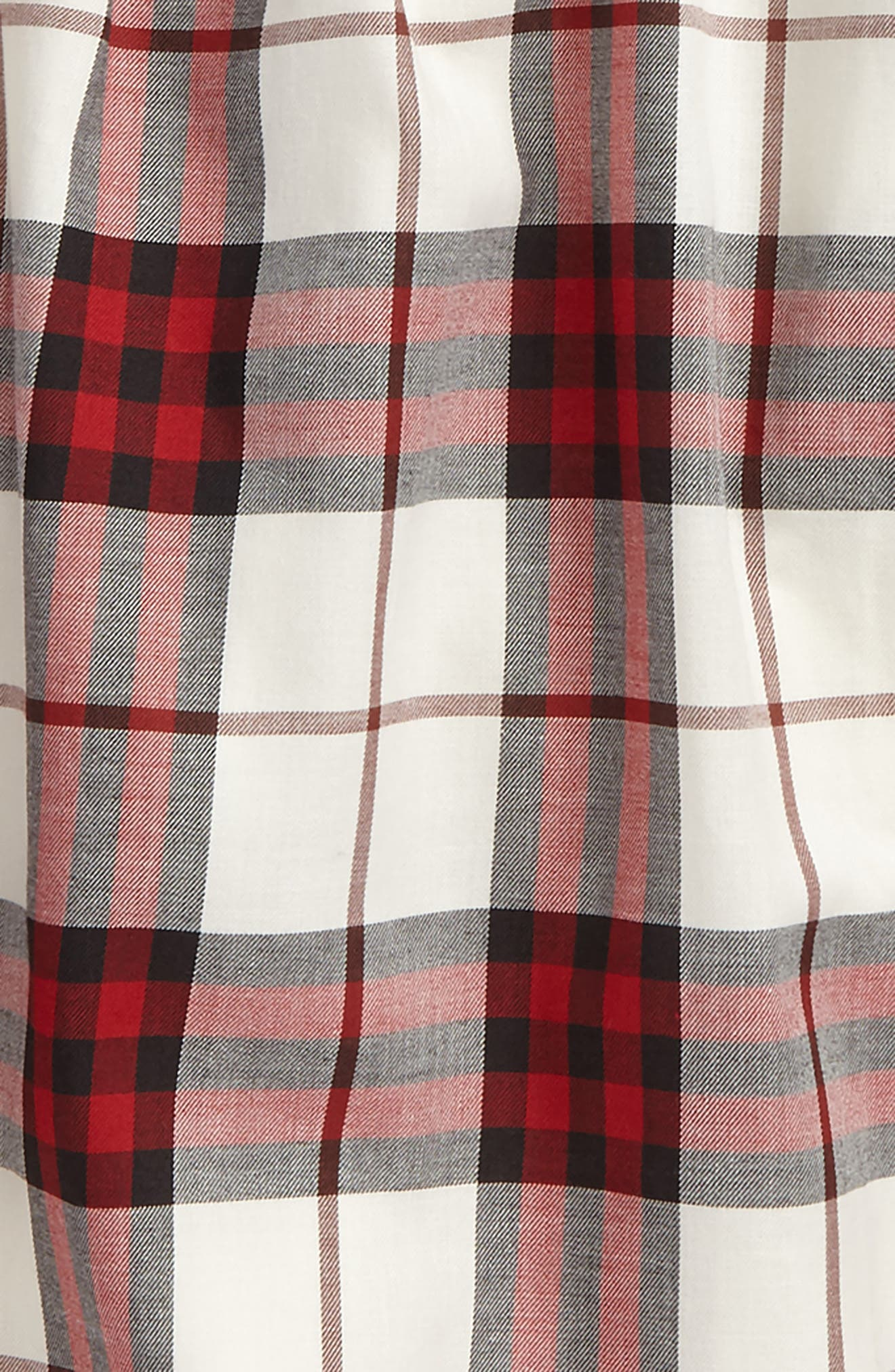 Alternate Image 2  - Burberry Karly Check Cotton Top (Little Girls & Big Girls)