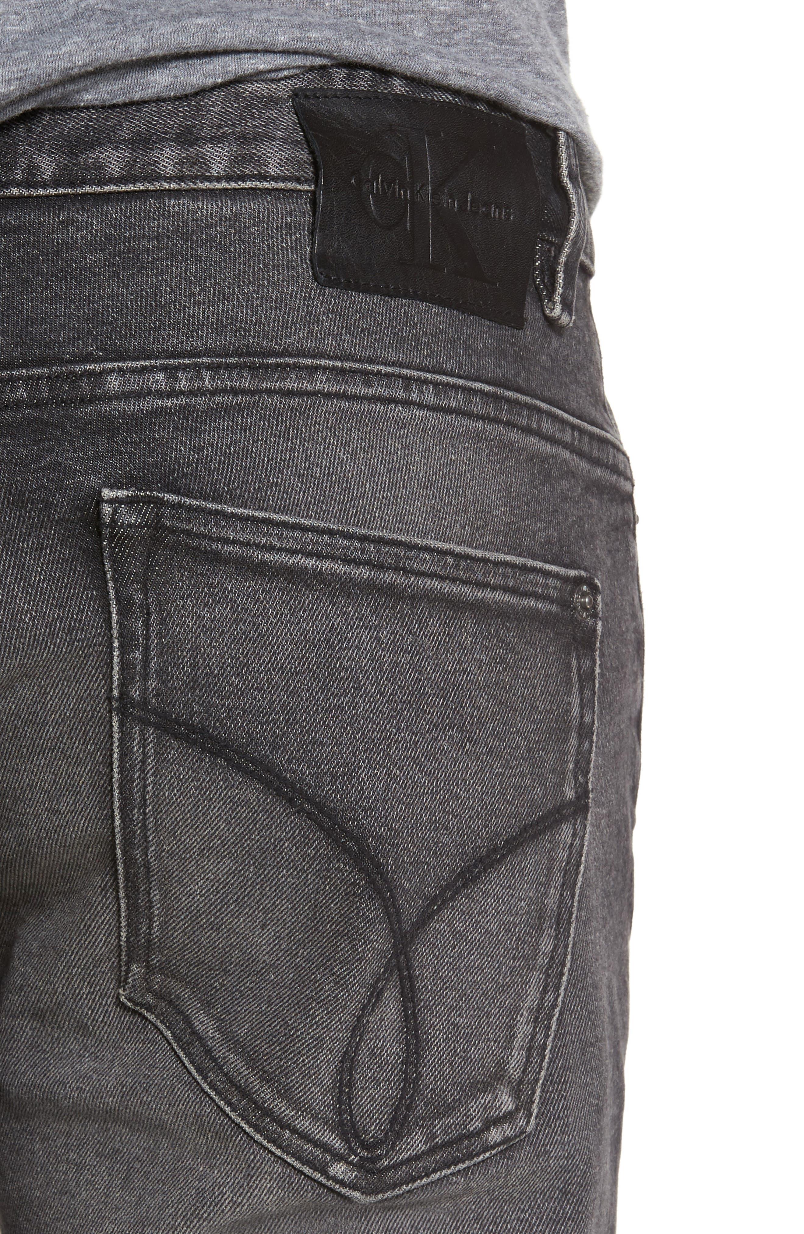 Skinny Jeans,                             Alternate thumbnail 4, color,                             Dark Stone
