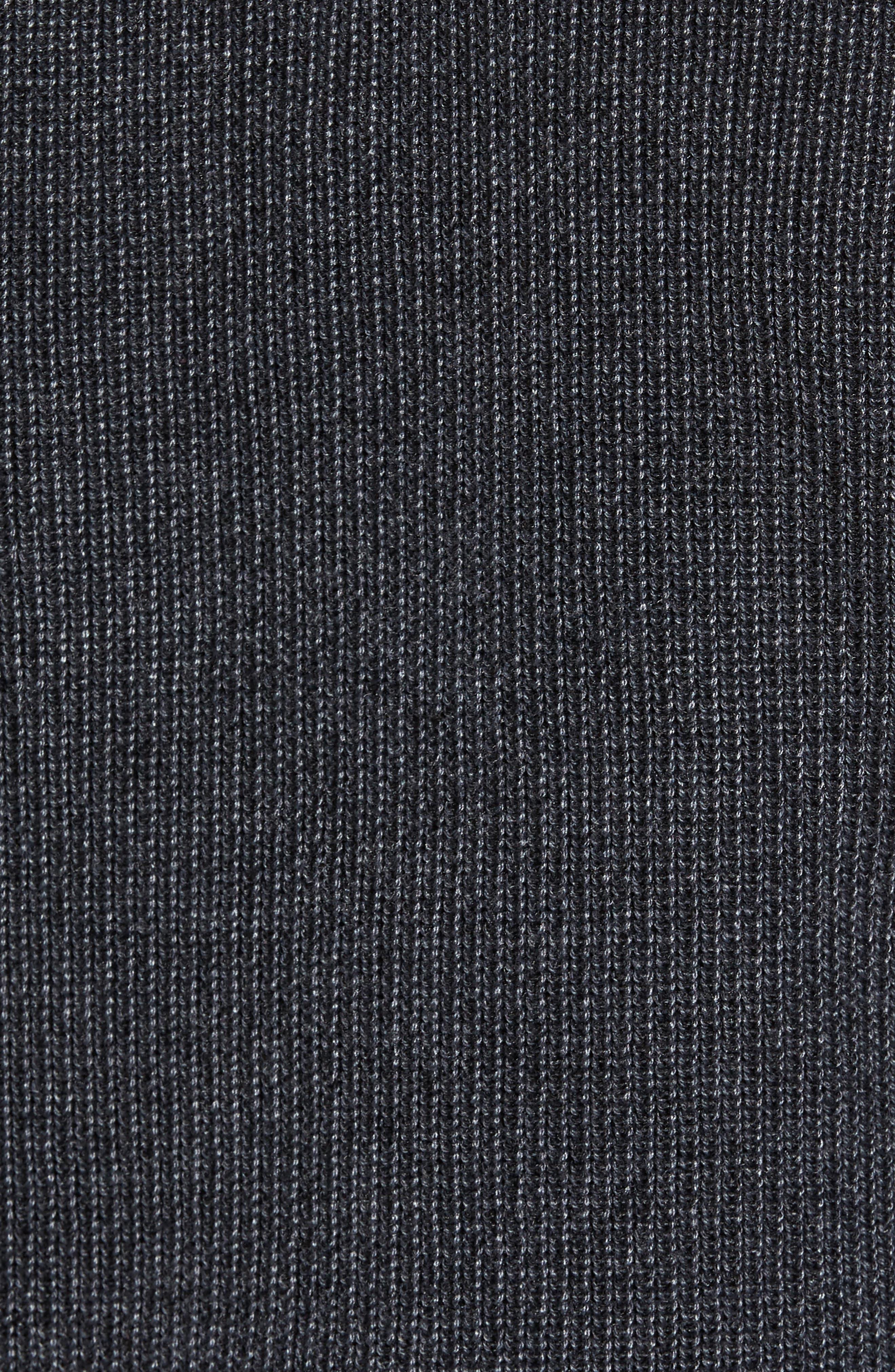 Alternate Image 6  - Ted Baker London Slim Fit Quarter Zip Sweater (Tall)