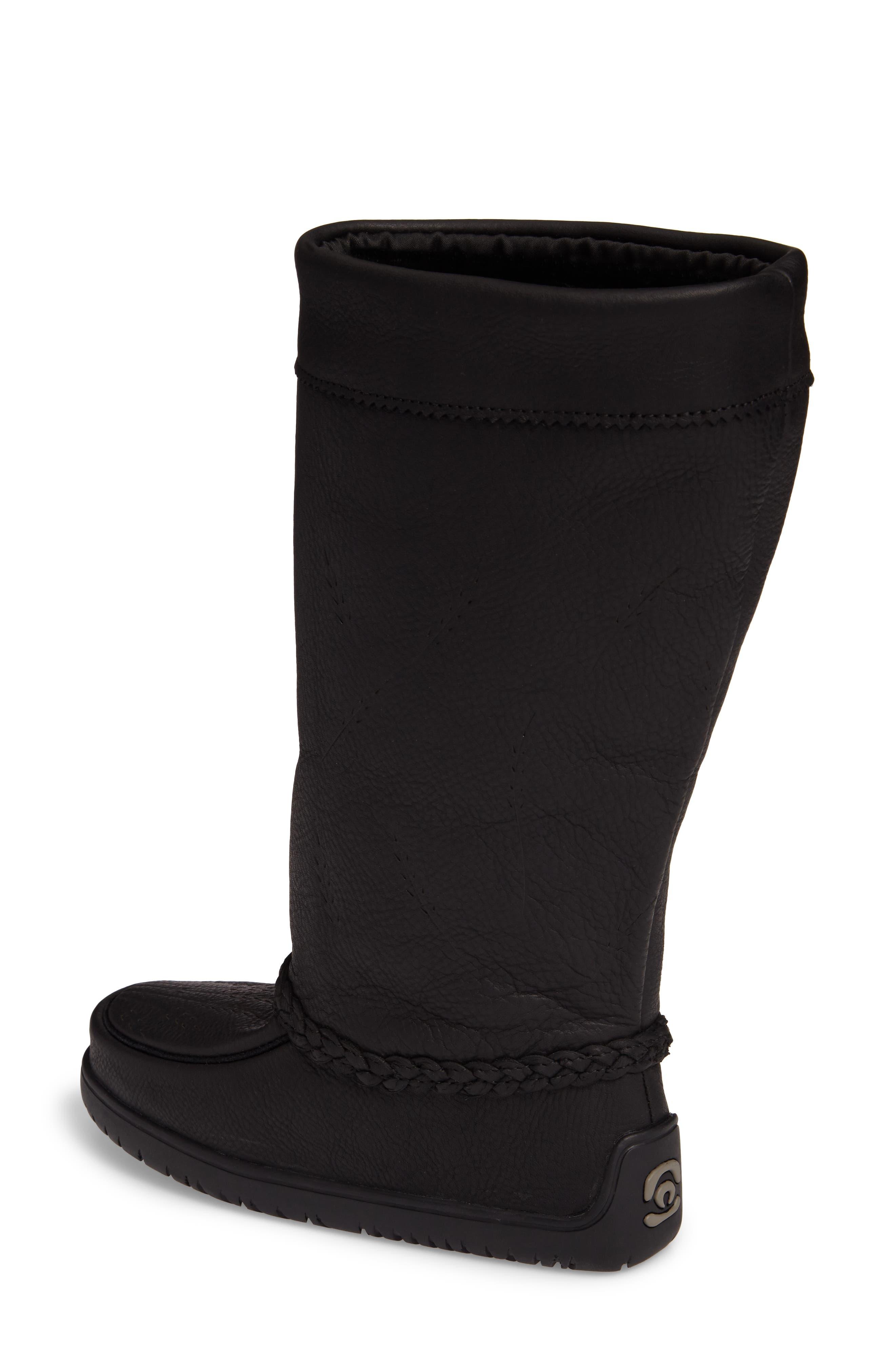 Alternate Image 2  - Manitobah Mukluks Tamarack Waterproof Genuine Shearling Boot (Women) (Wide Calf)