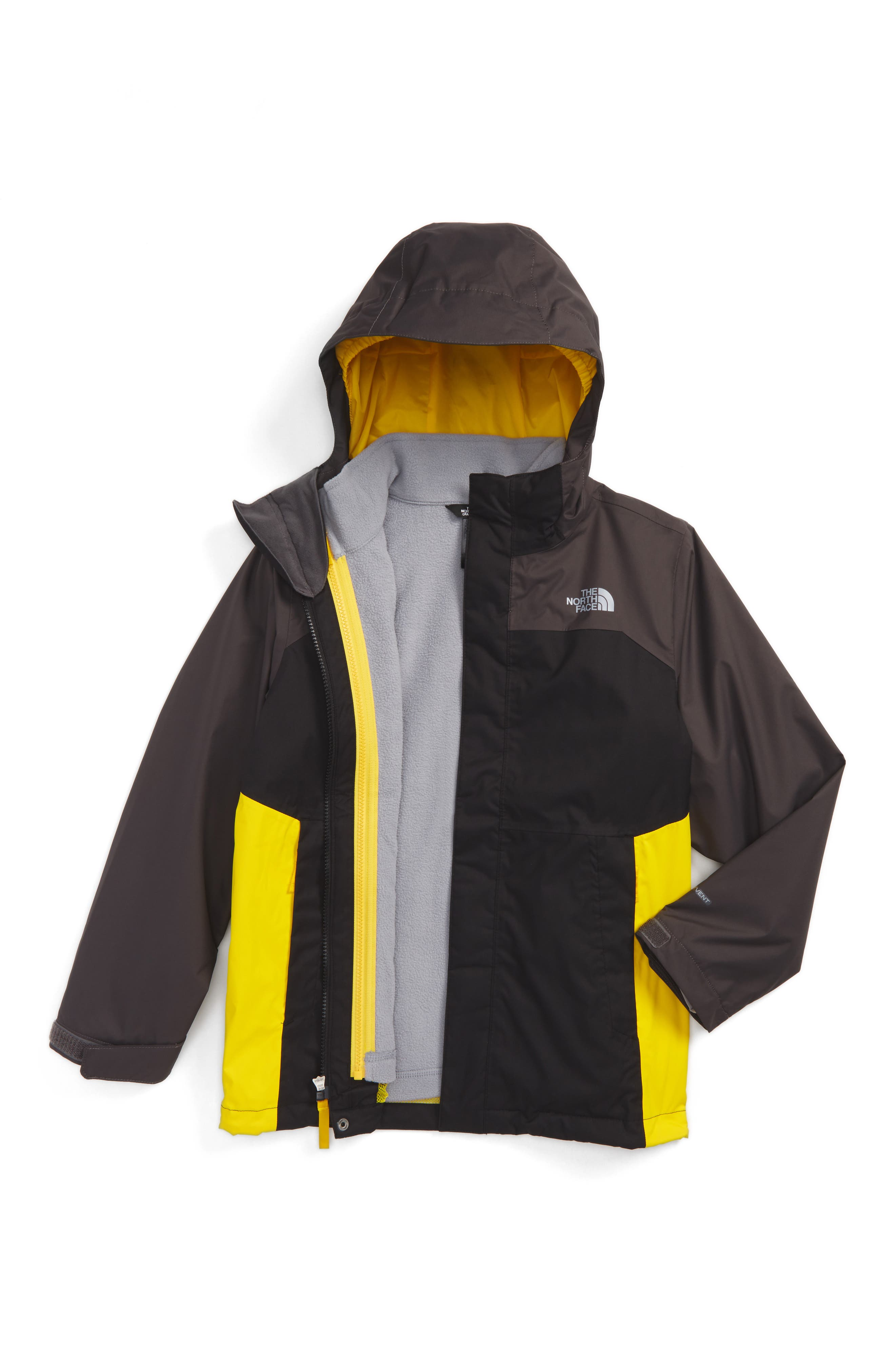 Main Image - The North Face Vortex TriClimate® 3-in-1 Jacket (Big Boys)