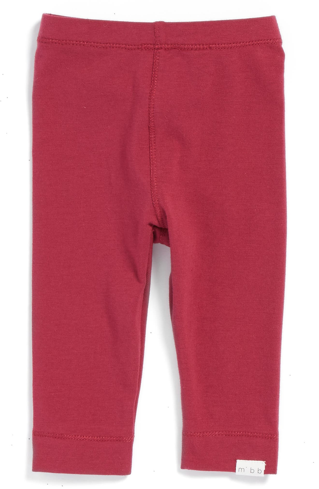 Main Image - Miles Baby Knit Leggings (Baby Girls)