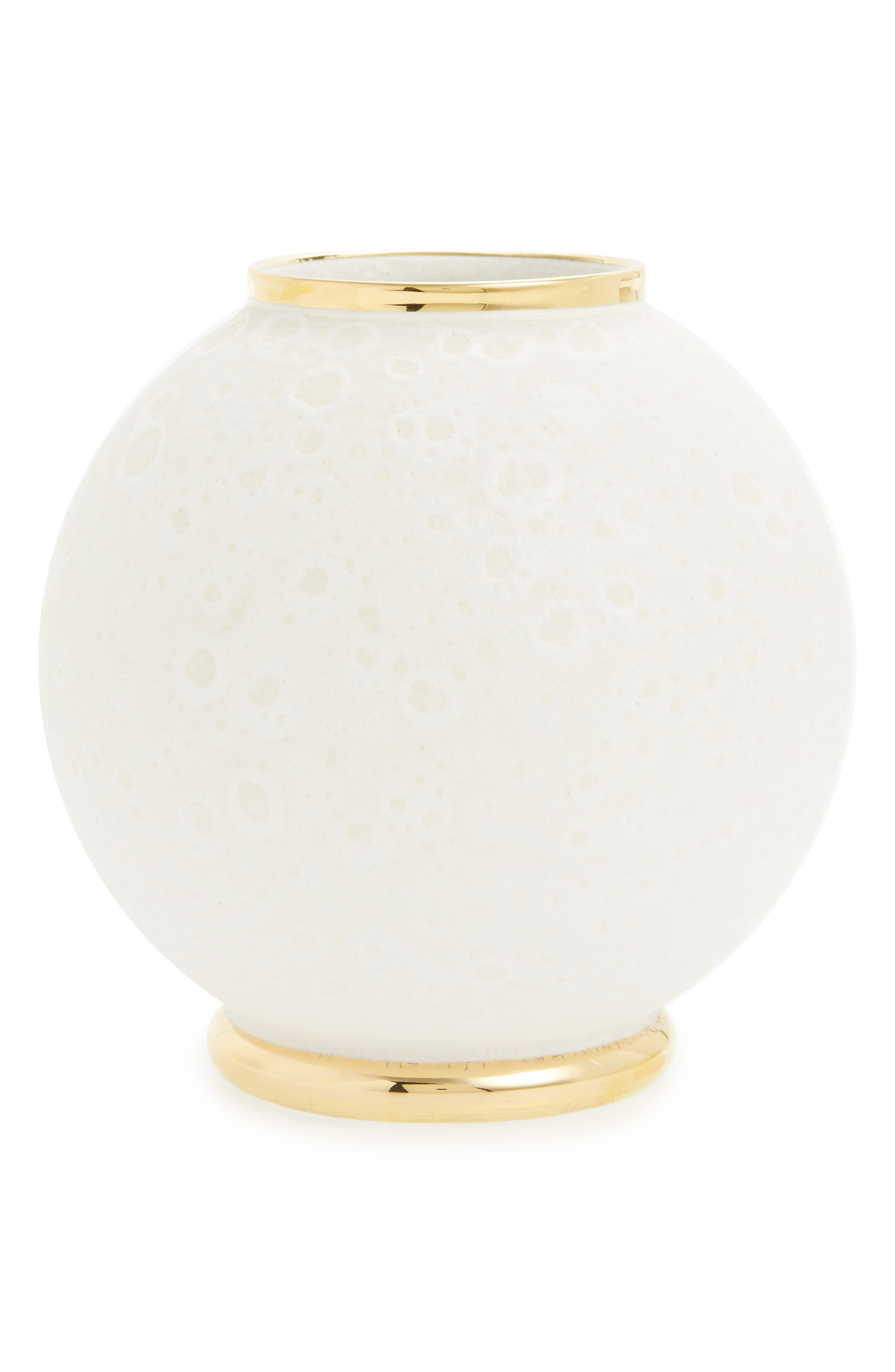 Alternate Image 1 Selected - AERIN Marion Round Ceramic Vase