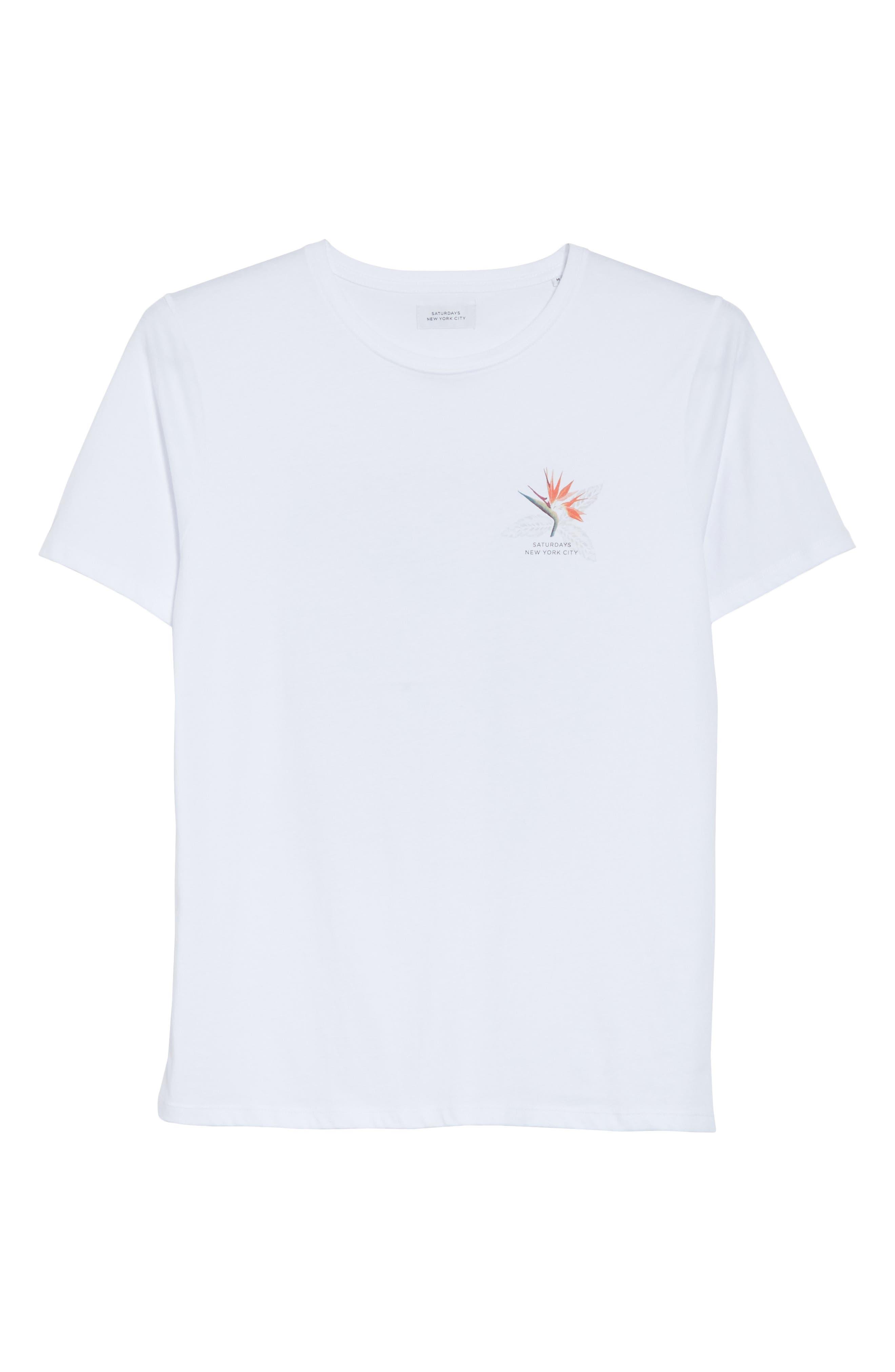 Paradise Graphic T-Shirt,                             Alternate thumbnail 6, color,                             White