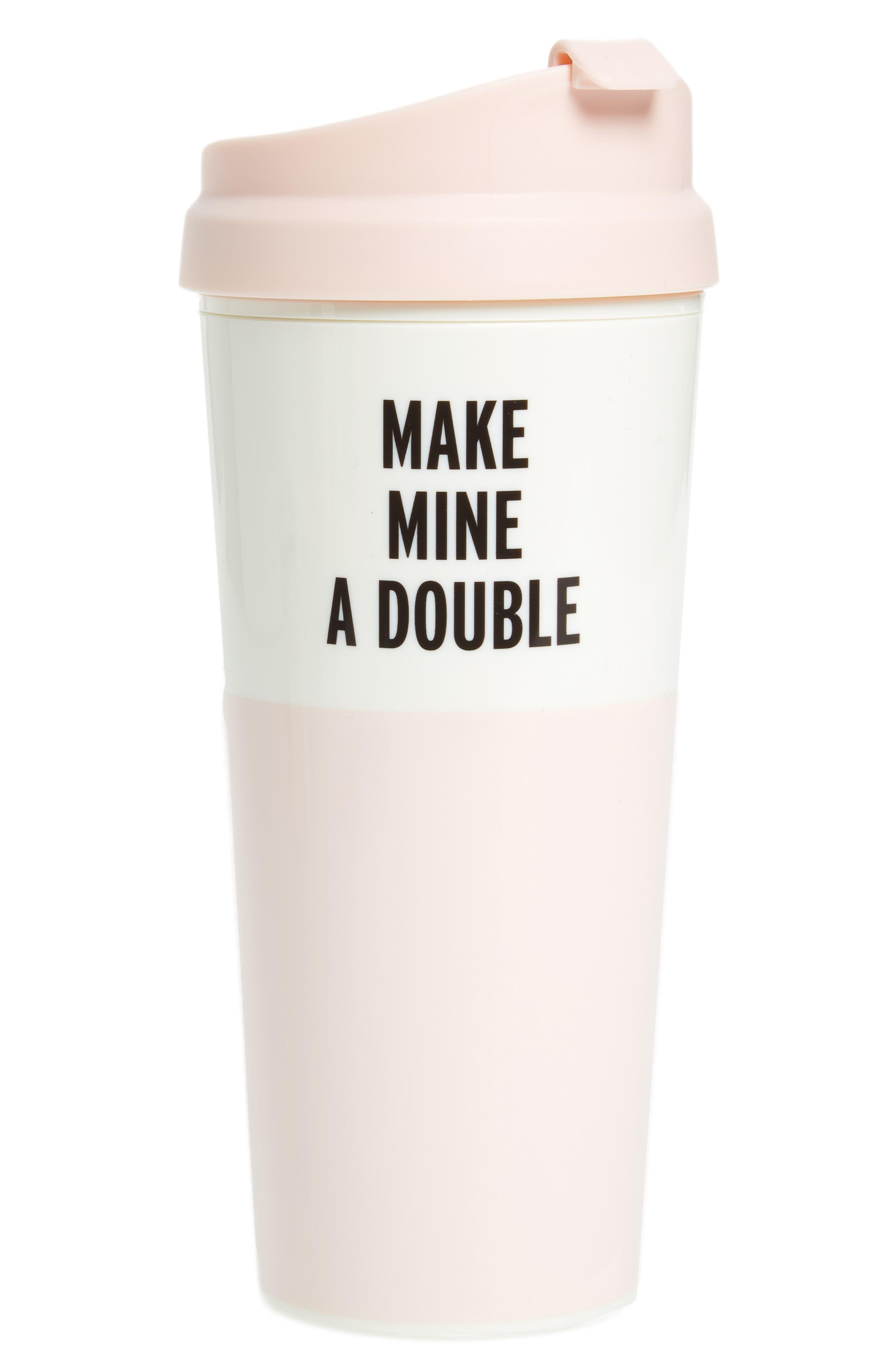 thermal mug,                             Main thumbnail 1, color,                             Pink