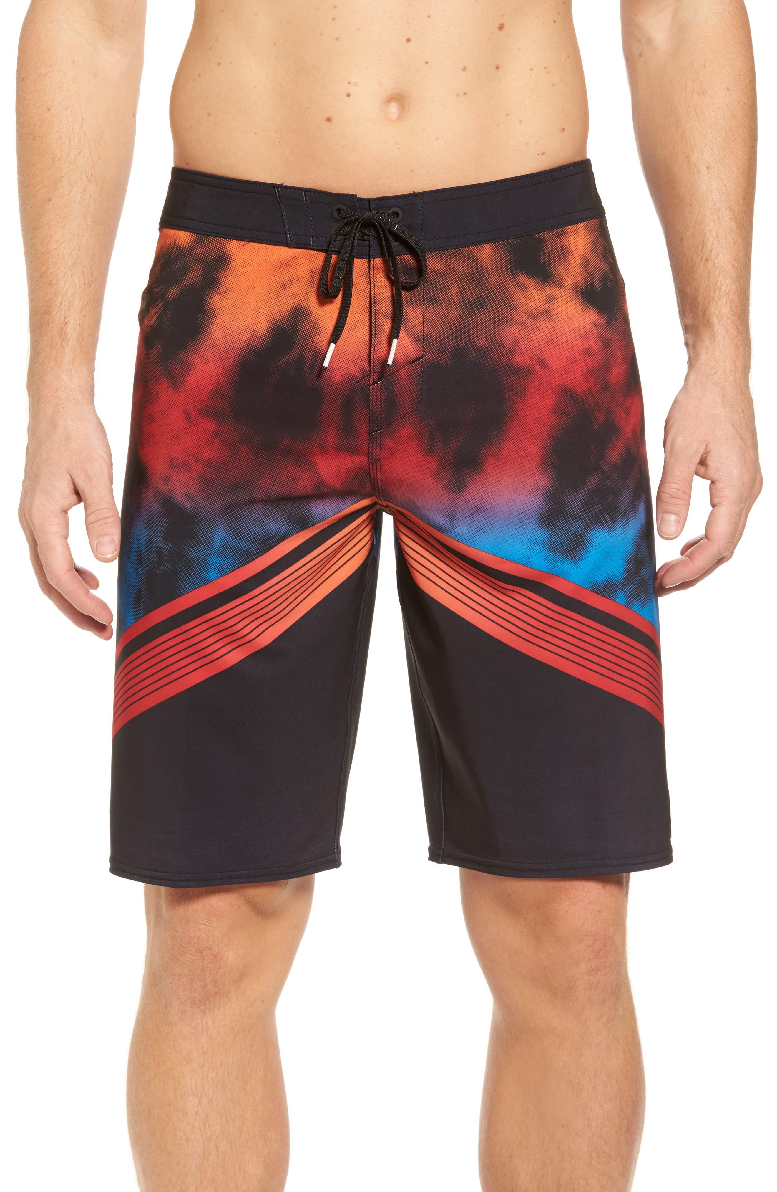 Hyperfreak Imagine Board Shorts,                         Main,                         color, Black