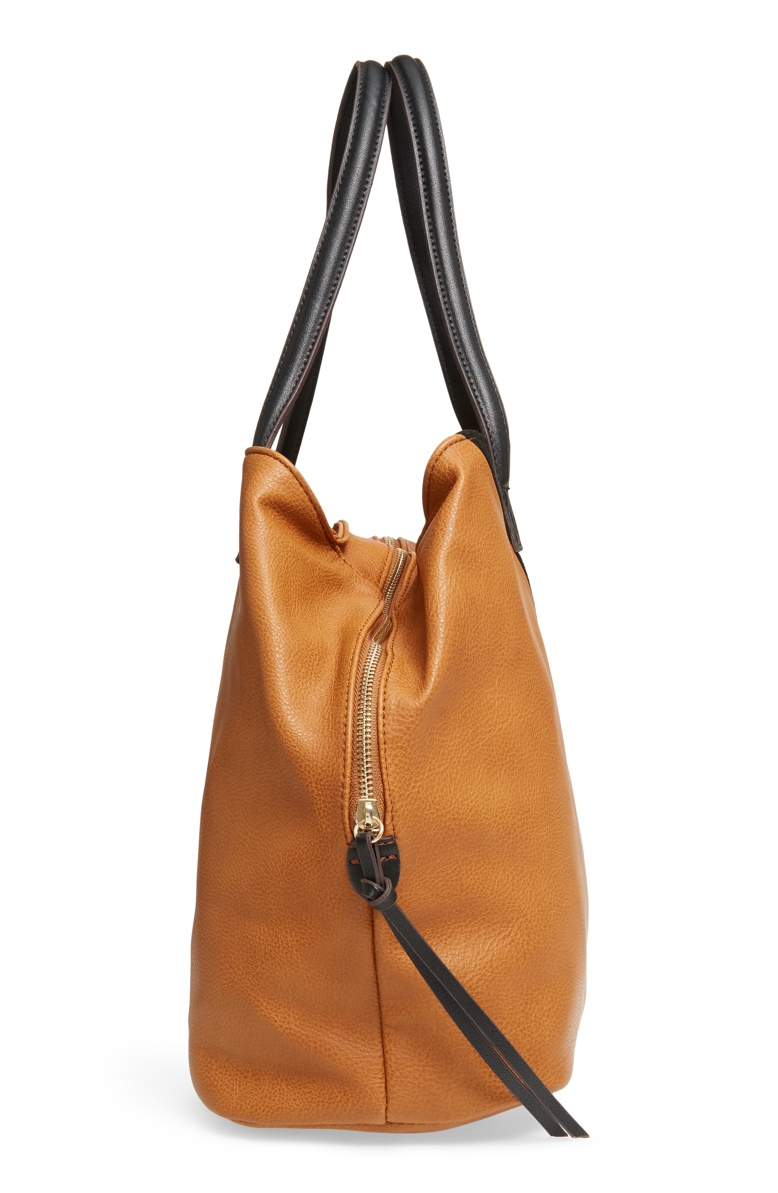 Alternate Image 3  - Sole Society Millar Faux Leather Tote