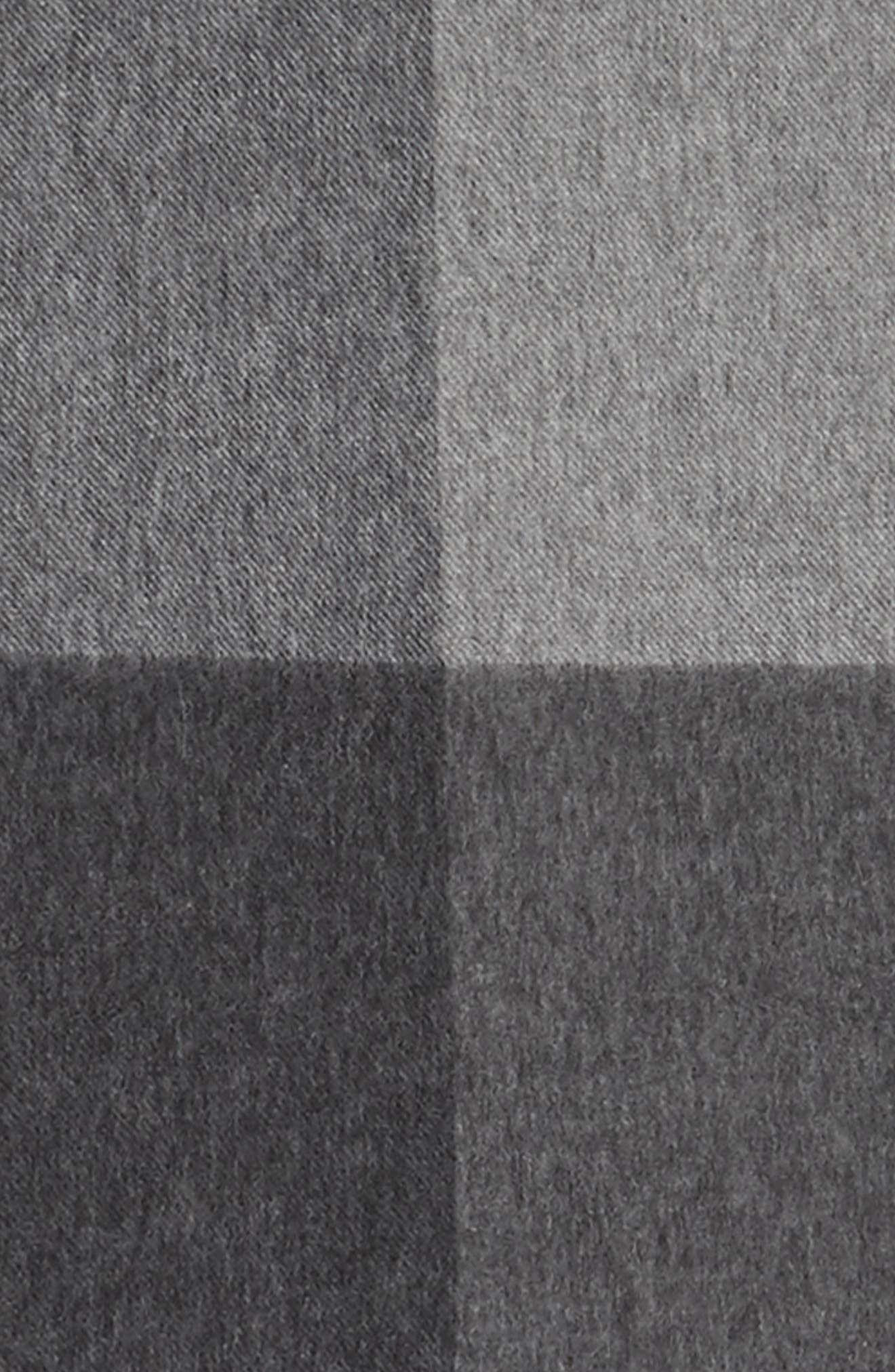 Alternate Image 3  - Nordstrom Men's Shop Colorblock Wool Scarf