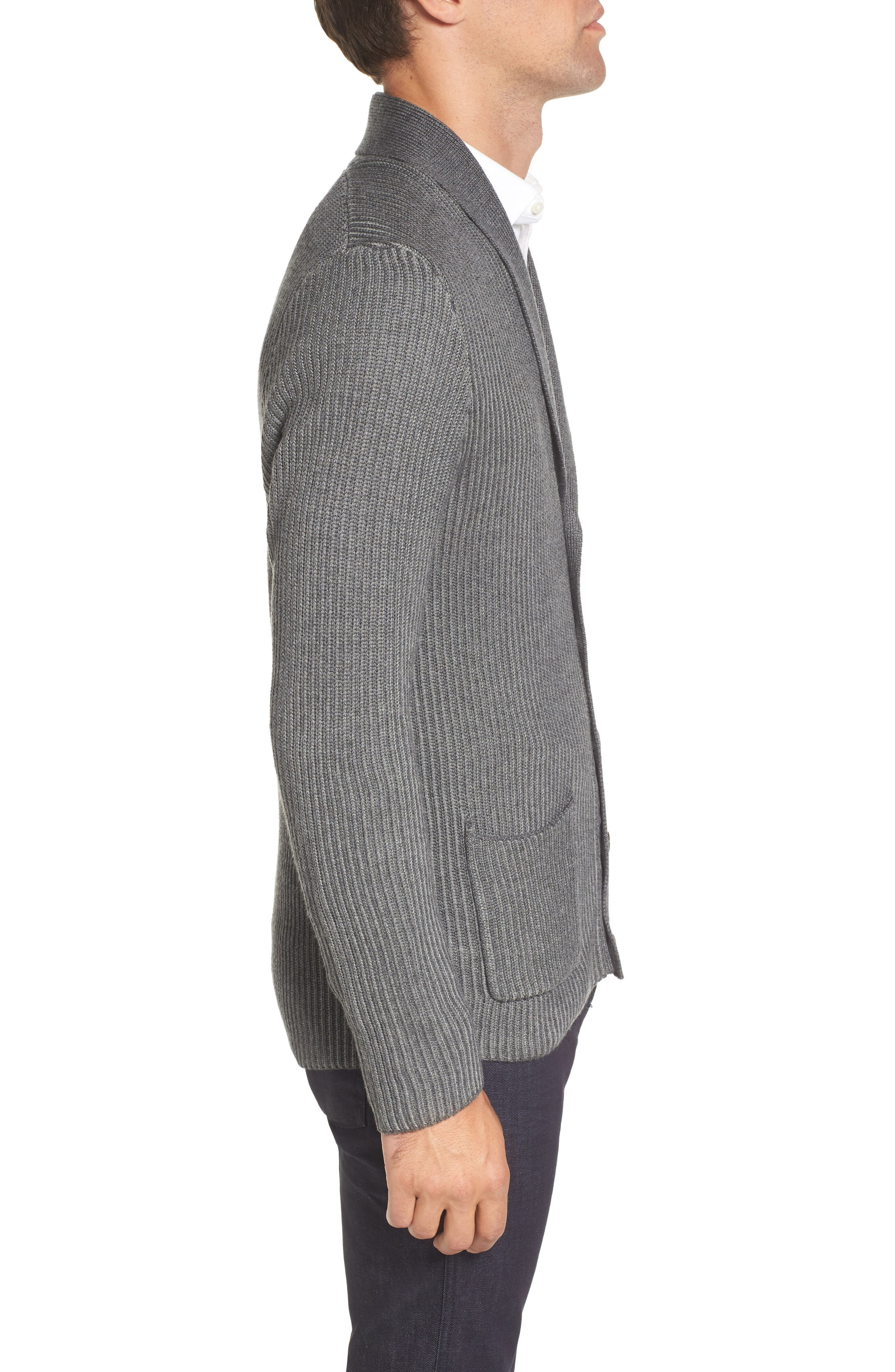 Alternate Image 3  - Vince Camuto Slim Shawl Collar Cardigan