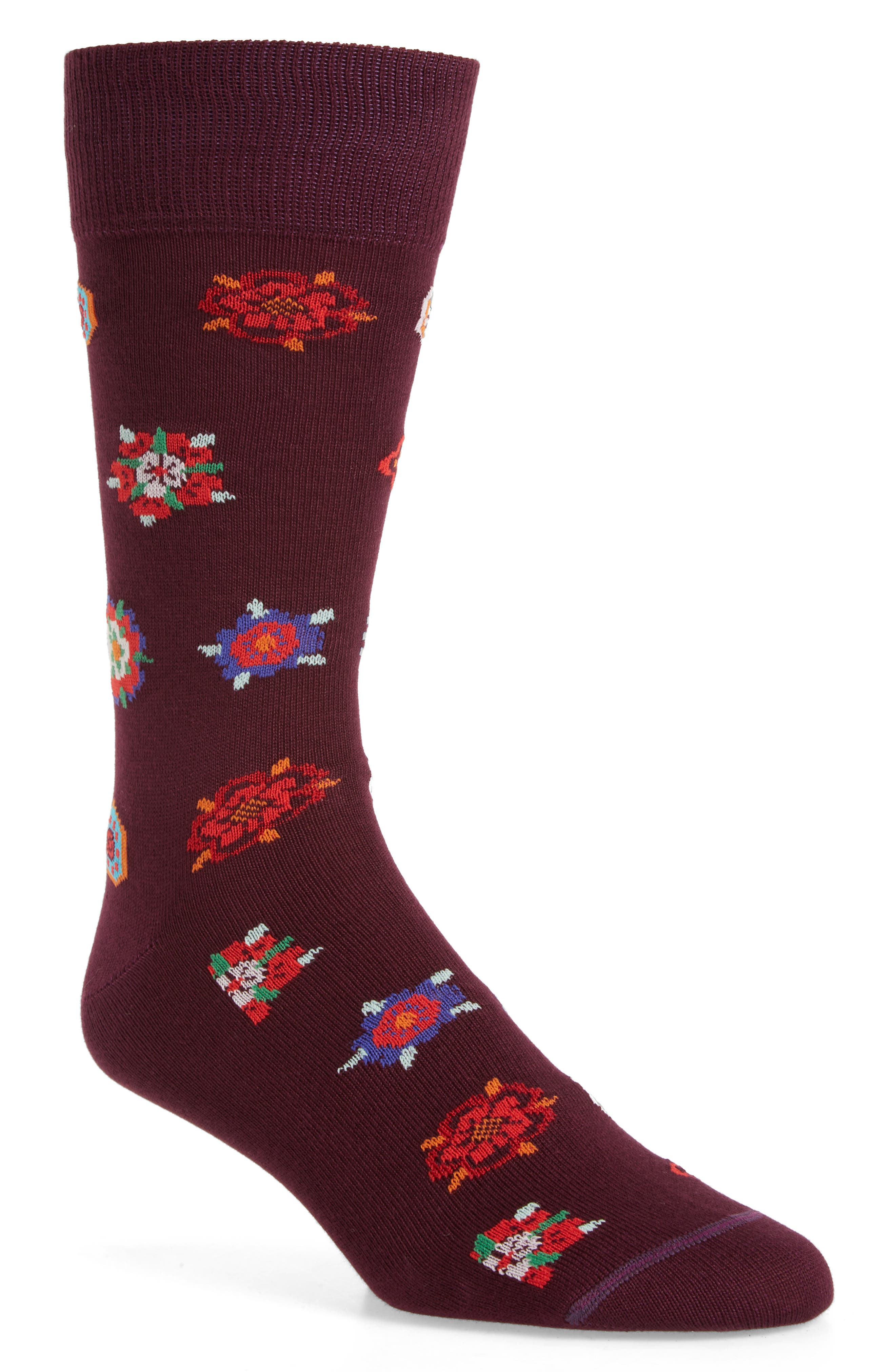 Paul Smith Tudor Rose Socks