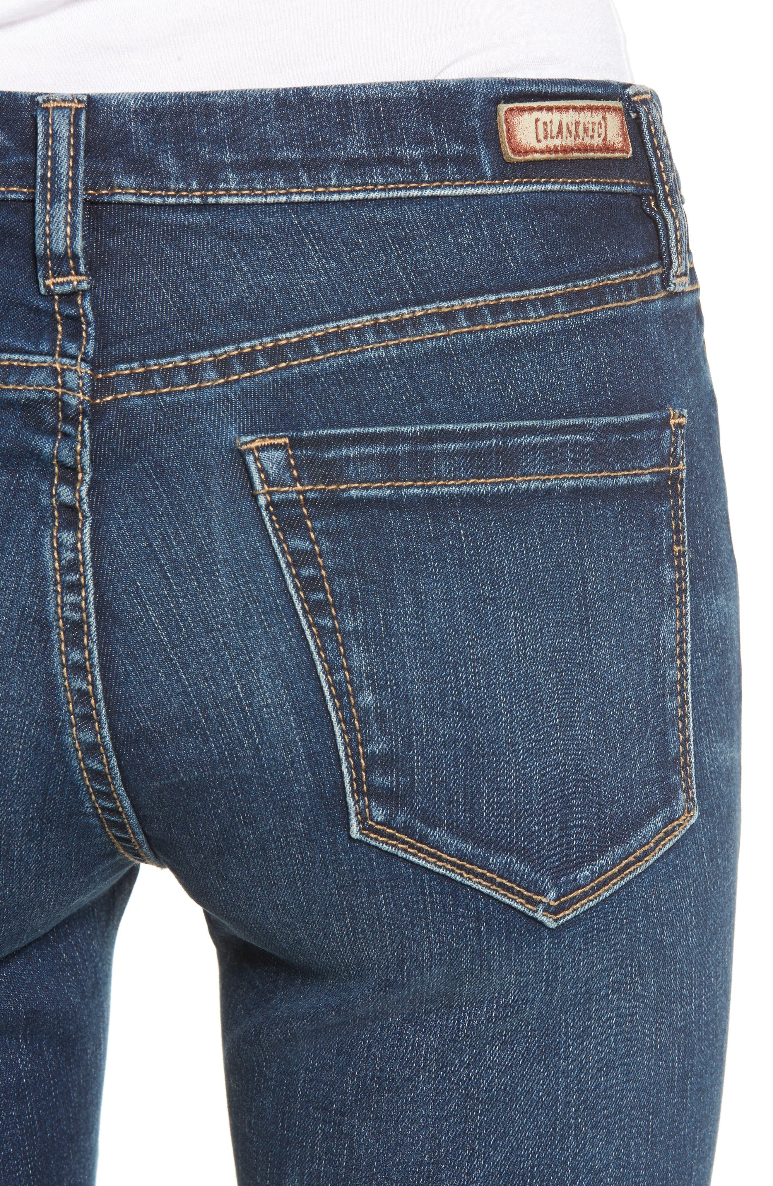 Alternate Image 4  - BLANKNYC Sleep Song Skinny Jeans