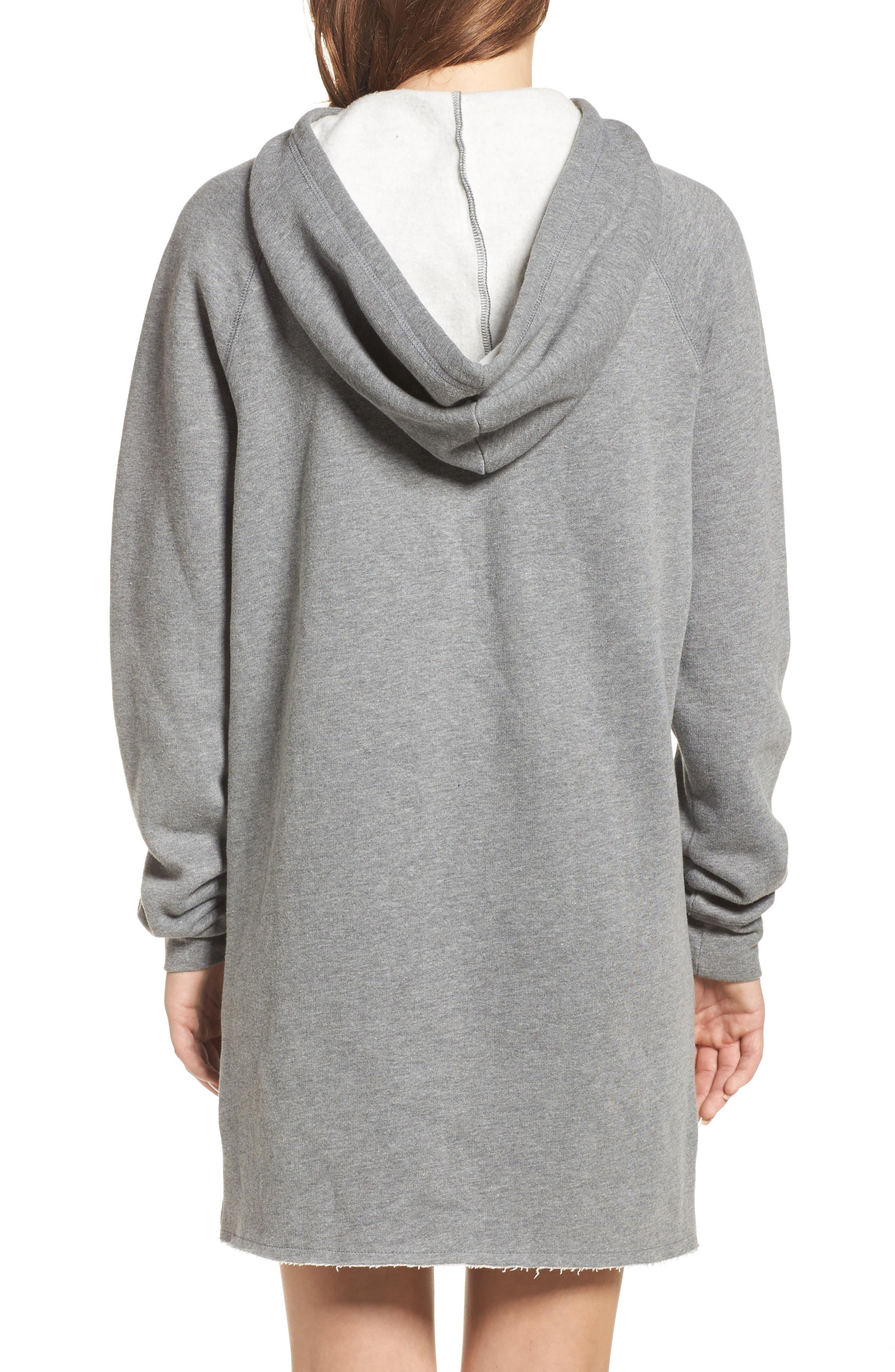Alternate Image 2  - BRUNETTE the Label Brunette Sweatshirt Dress