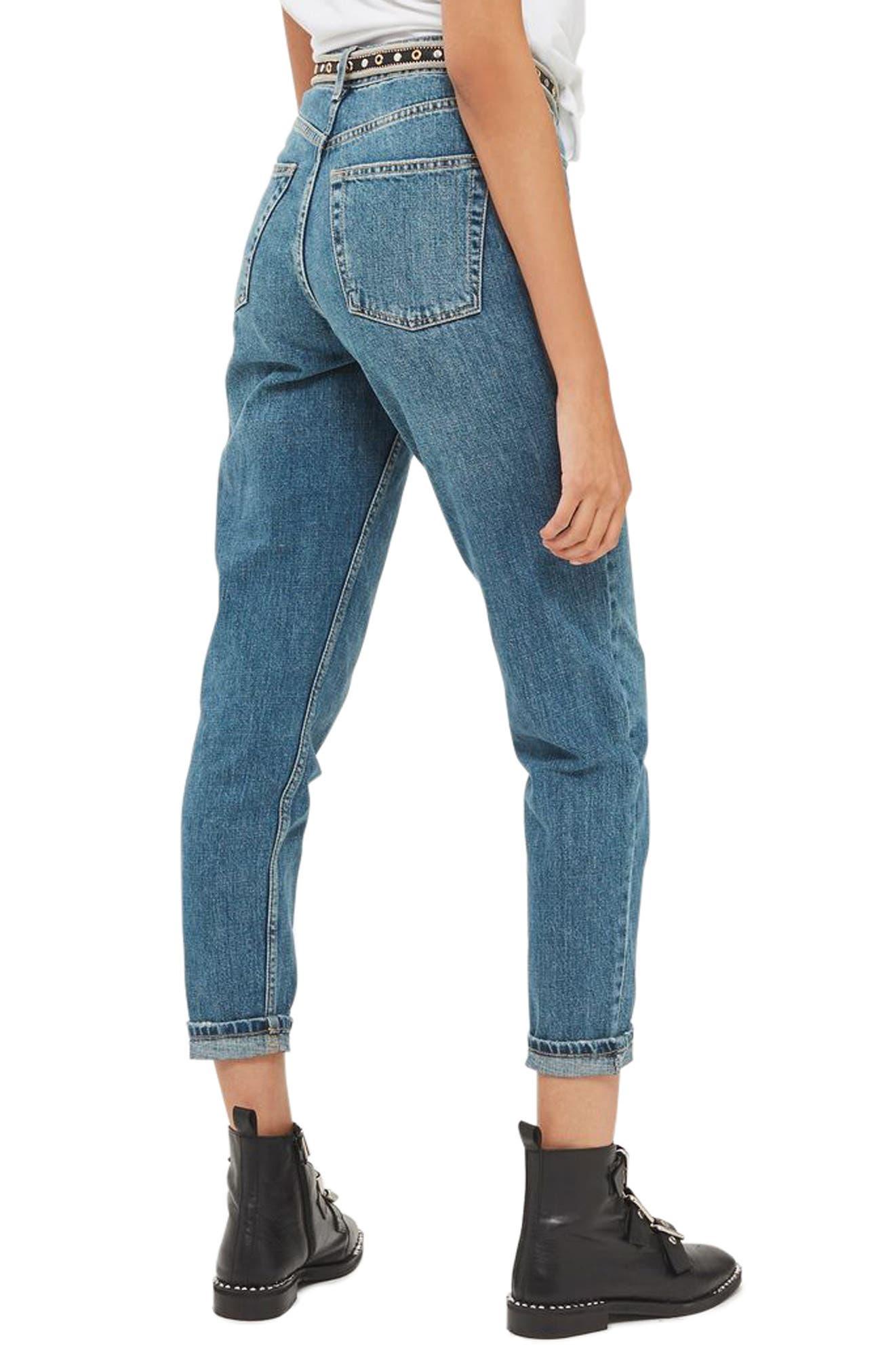 Alternate Image 3  - Topshop Mom Jeans