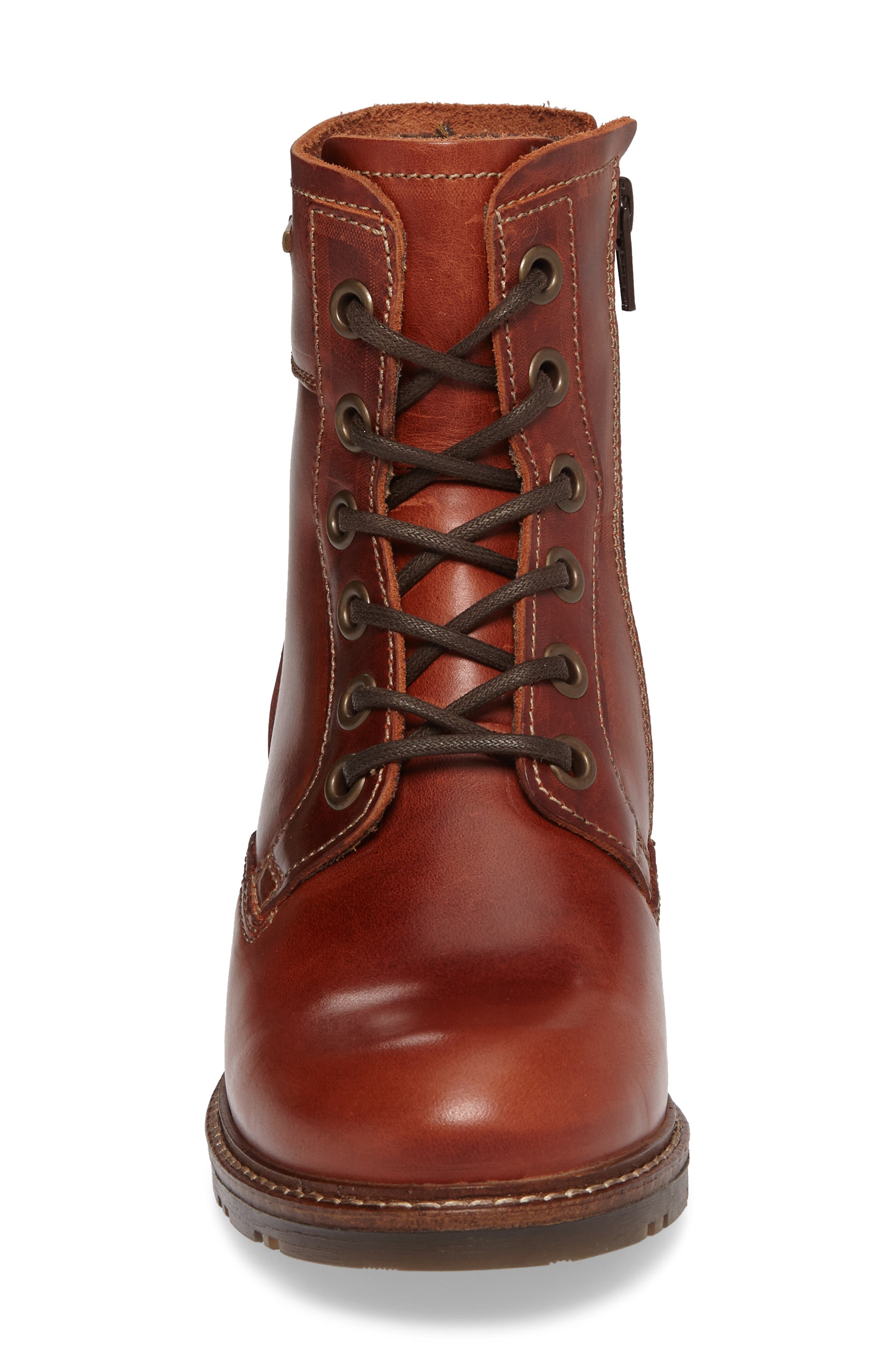 Silo Waterproof Gore-Tex<sup>®</sup> Boot,                             Alternate thumbnail 4, color,                             Brick Leather