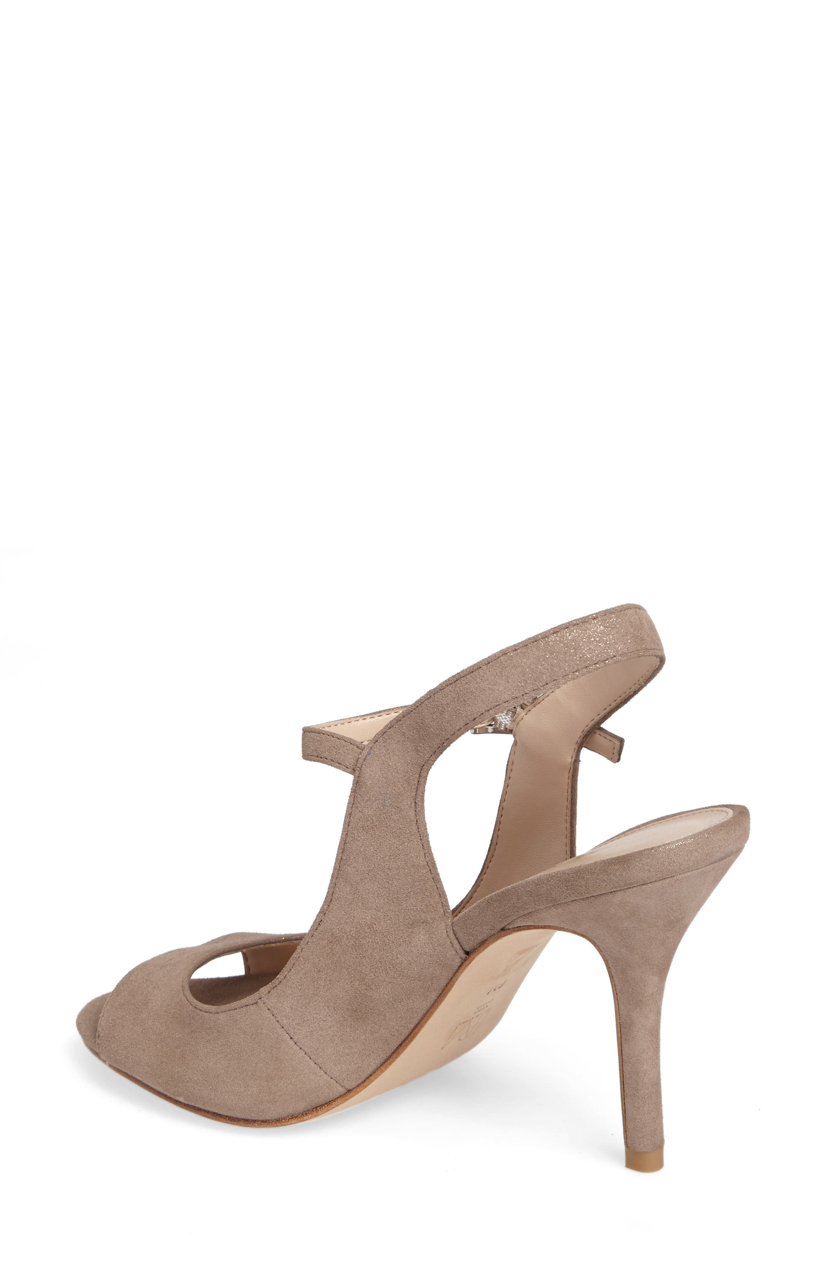 Kinsey Sandal,                             Alternate thumbnail 2, color,                             Taupe Leather