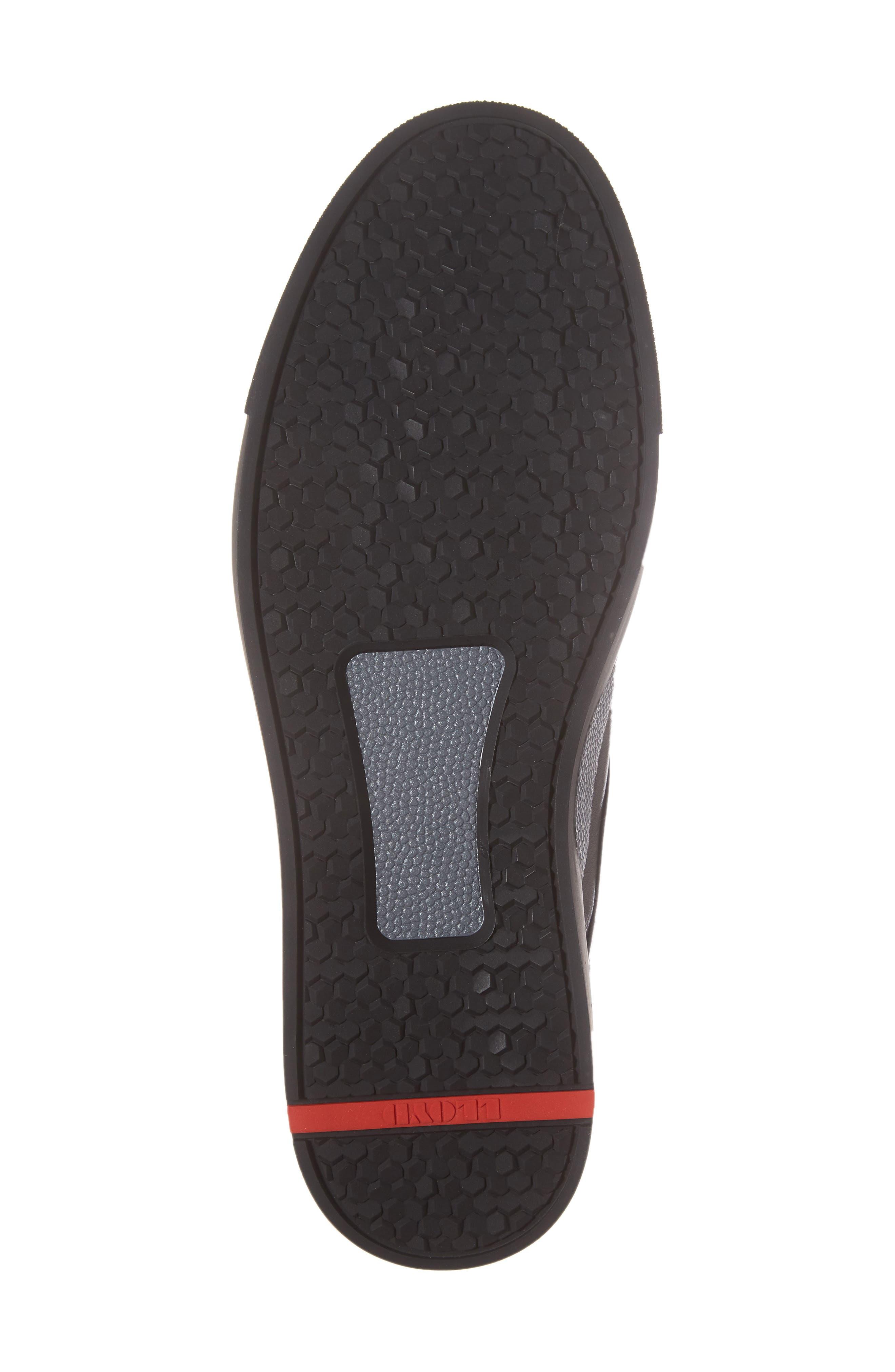 Adamson Sneaker,                             Alternate thumbnail 6, color,                             Black
