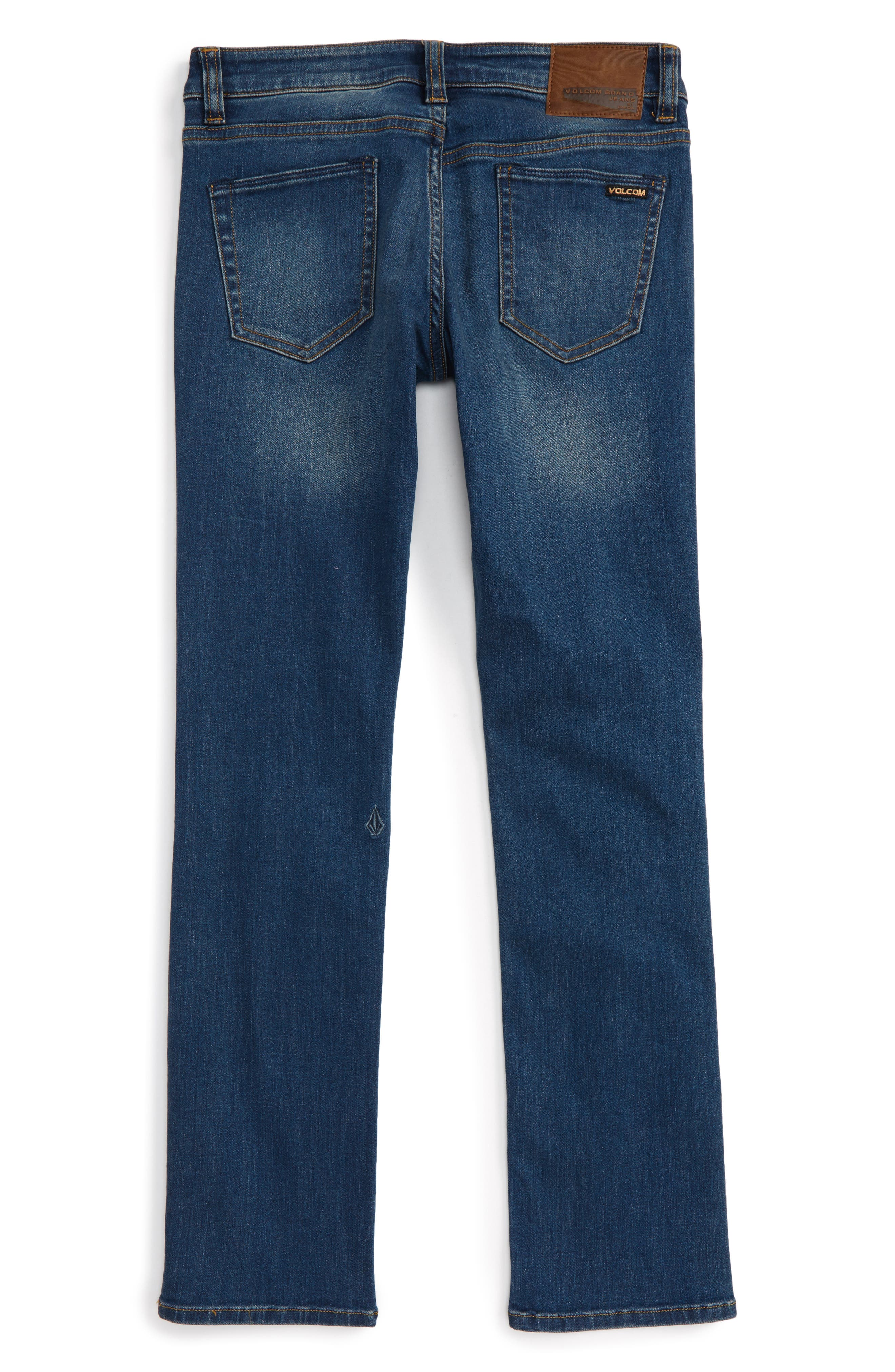 Alternate Image 2  - Volcom Vorta Slim Fit Jeans (Big Boys)