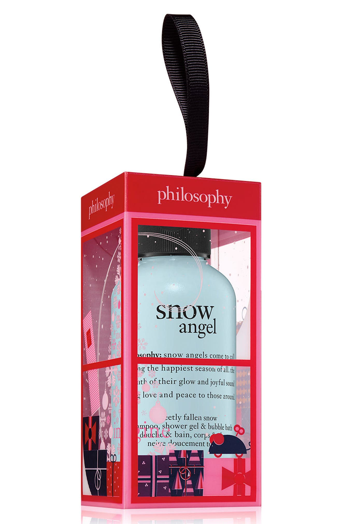 philosophy snow angel shampoo, shower gel & bubble bath ornament (Limited Edition)