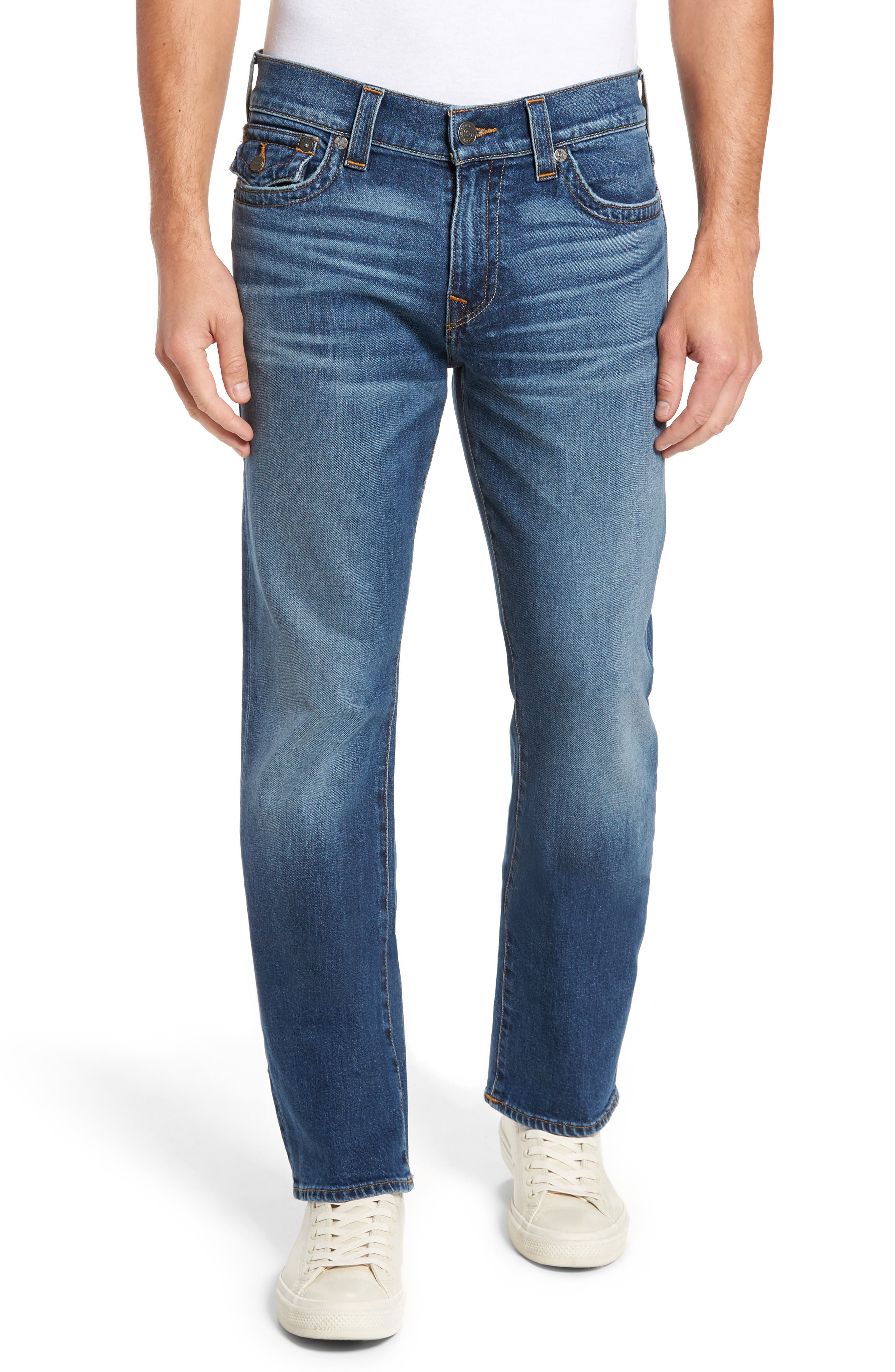 Main Image - True Religion Brand Jeans Ricky Relaxed Fit Jeans (Indigo Traveler)