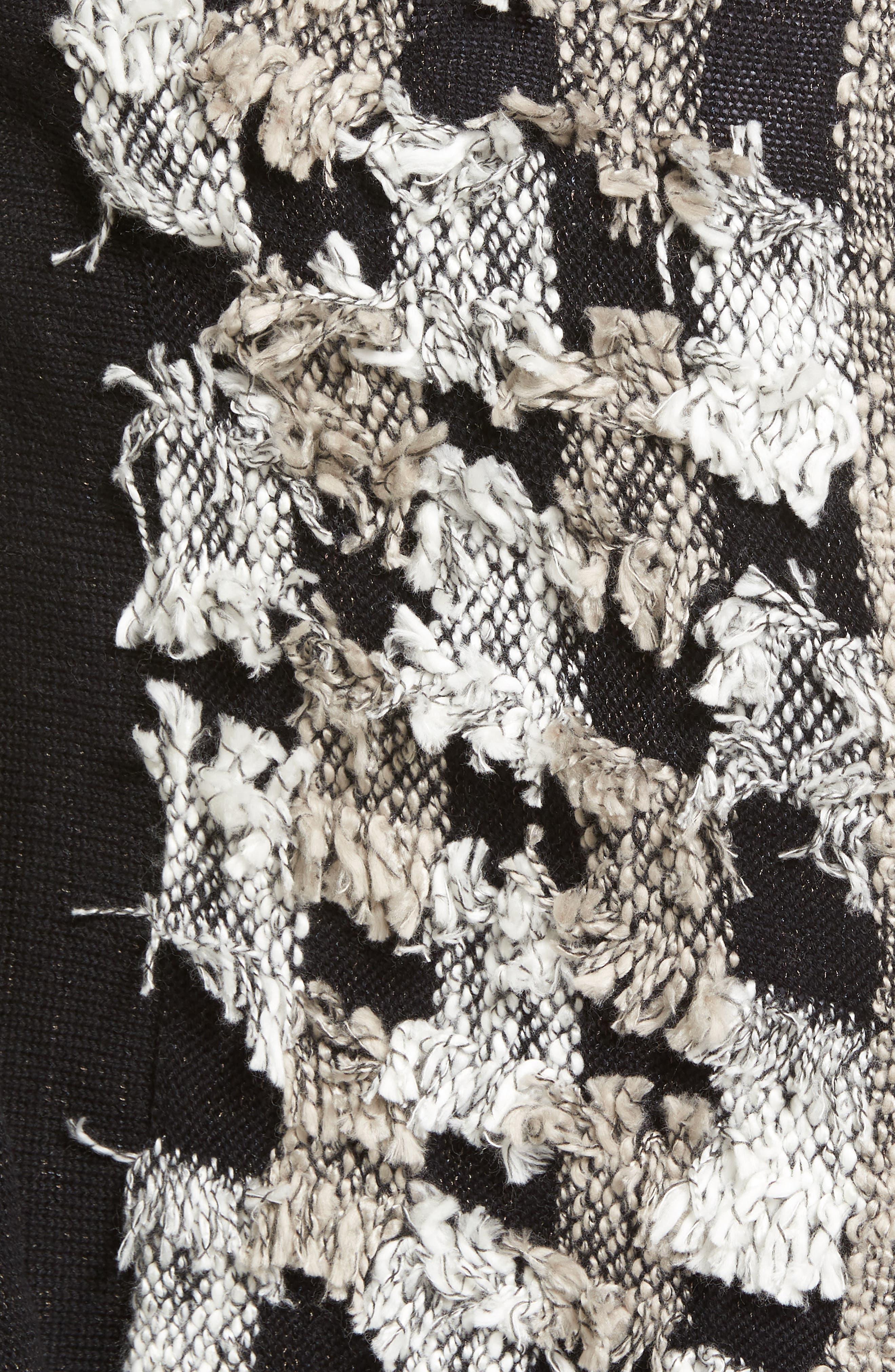 Blocked Out Vest,                             Alternate thumbnail 5, color,                             Black Multi