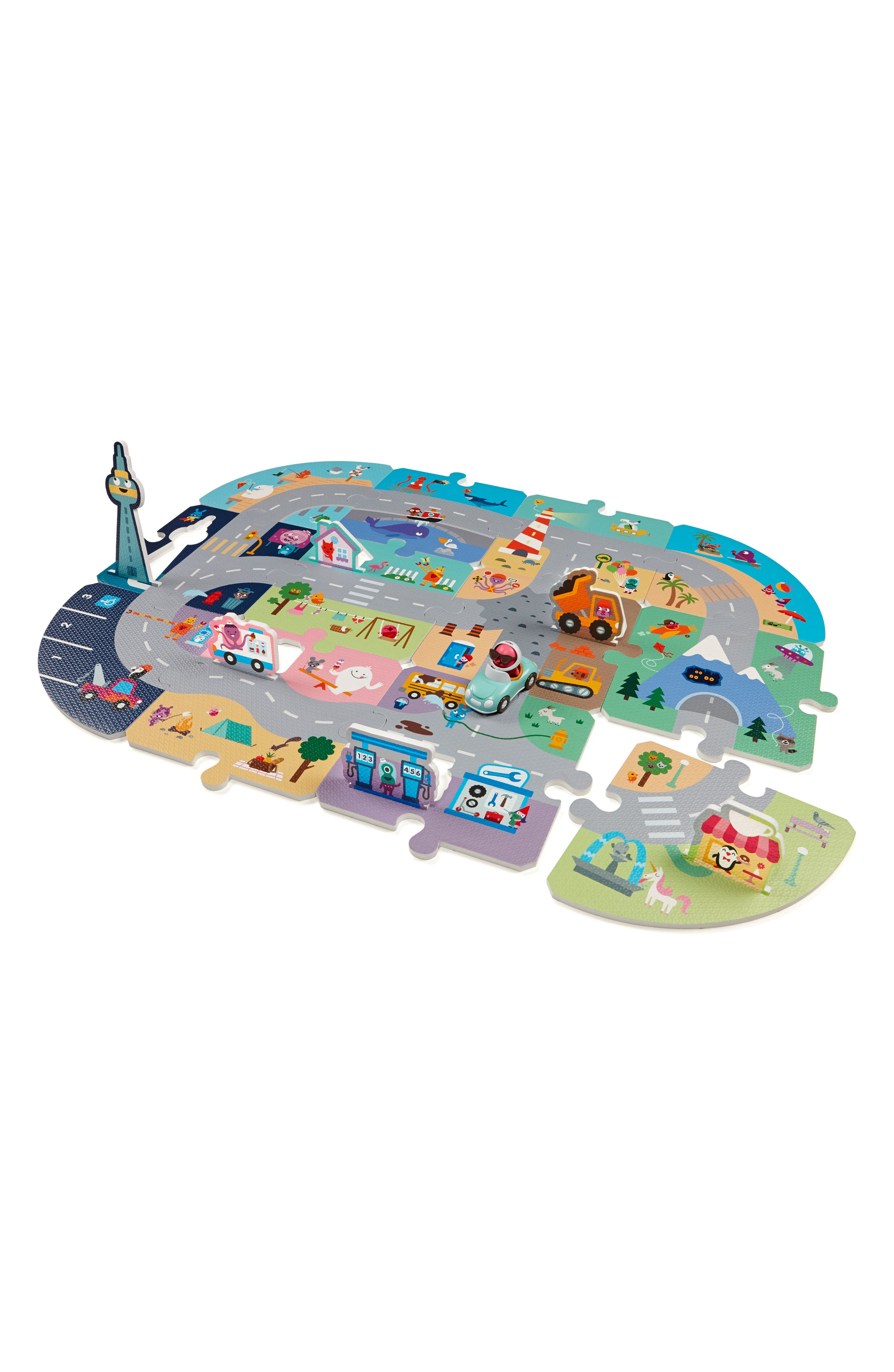 Sago Mini Robin's Road Trip Puzzle Mat