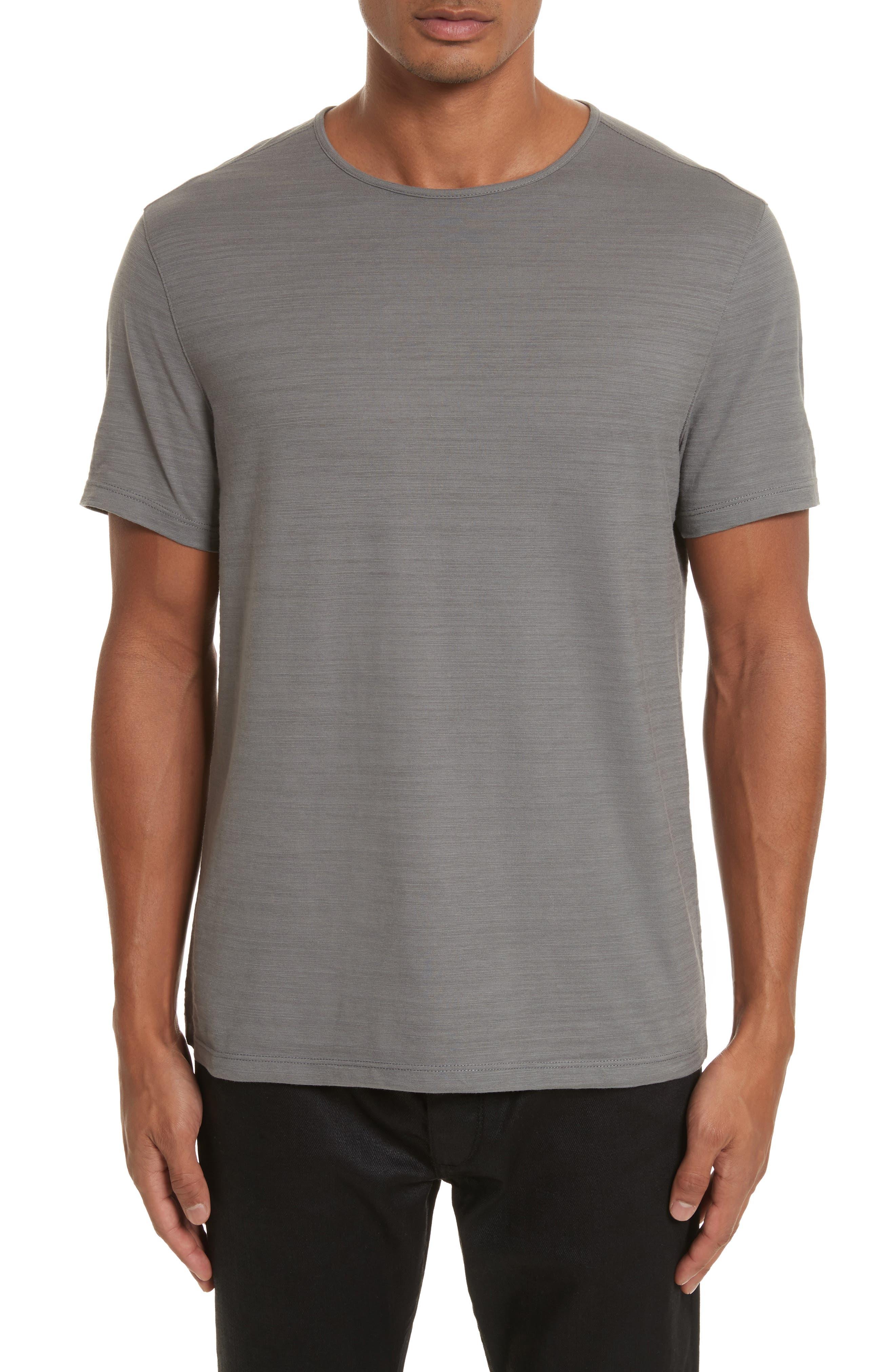 Stripe T-Shirt,                         Main,                         color, Med Grey