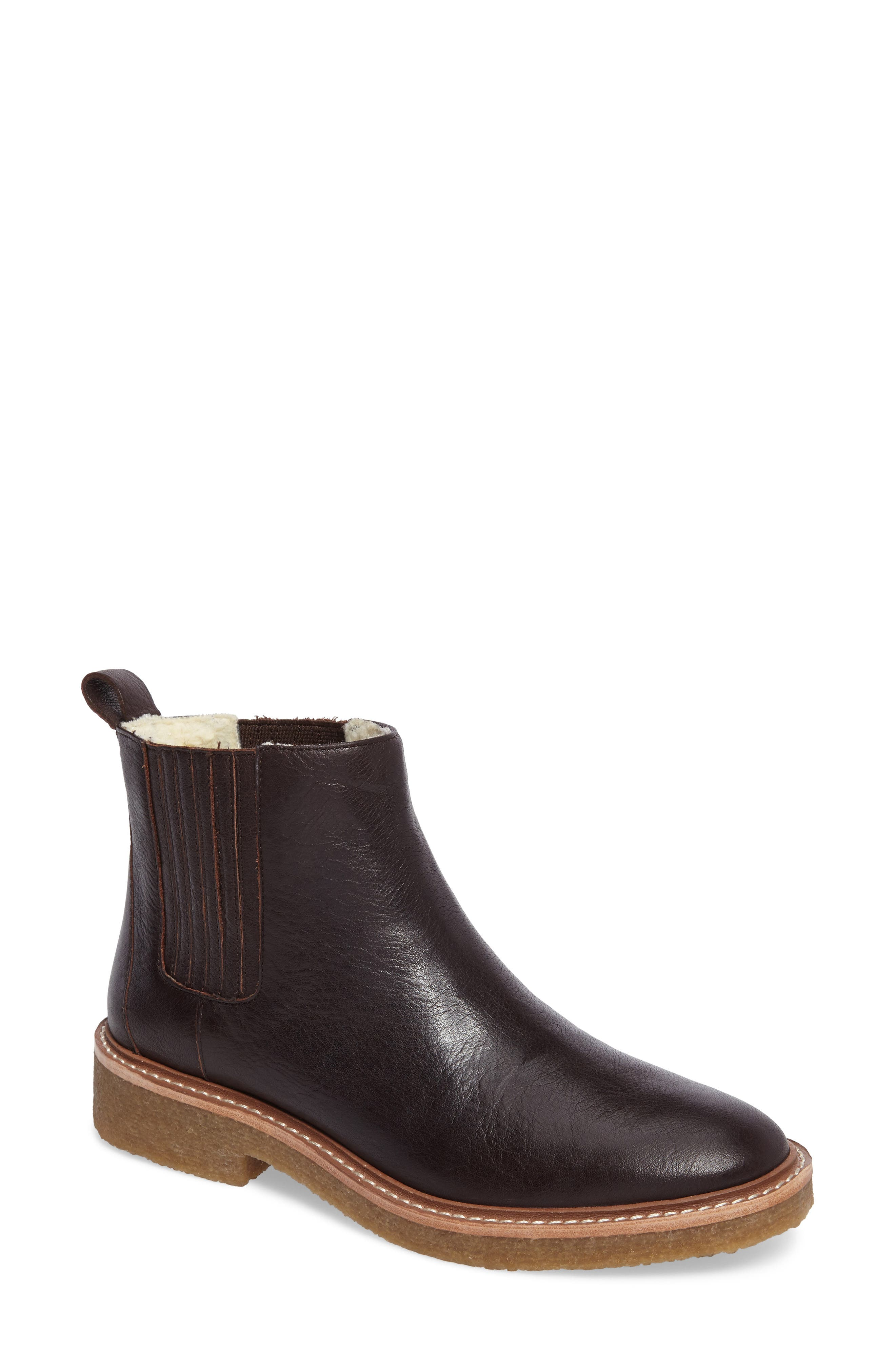 CHELSEA FAUX SHEARLING LINED BOOT