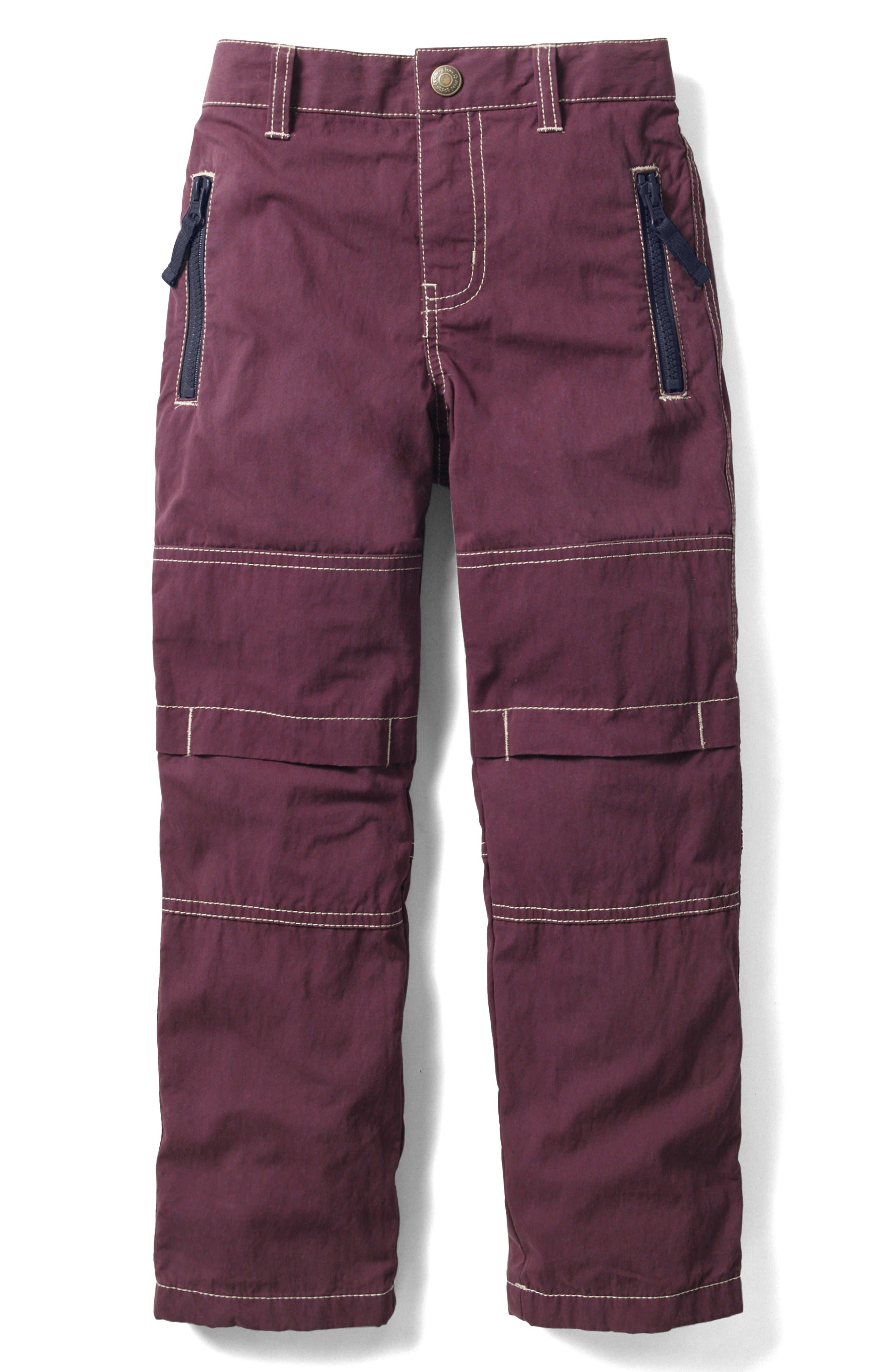 Mini Boden Lined Skate Pants (Toddler Boys, Little Boys & Big Boys)