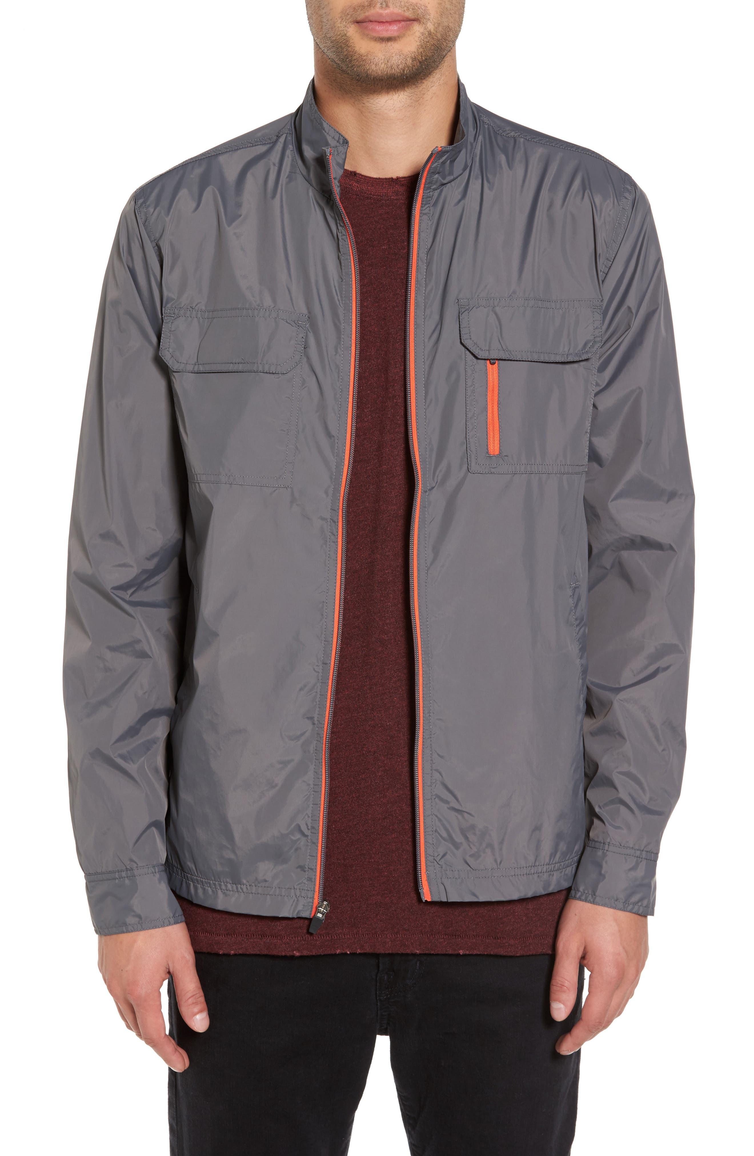 Staple Jacket,                         Main,                         color, Grey