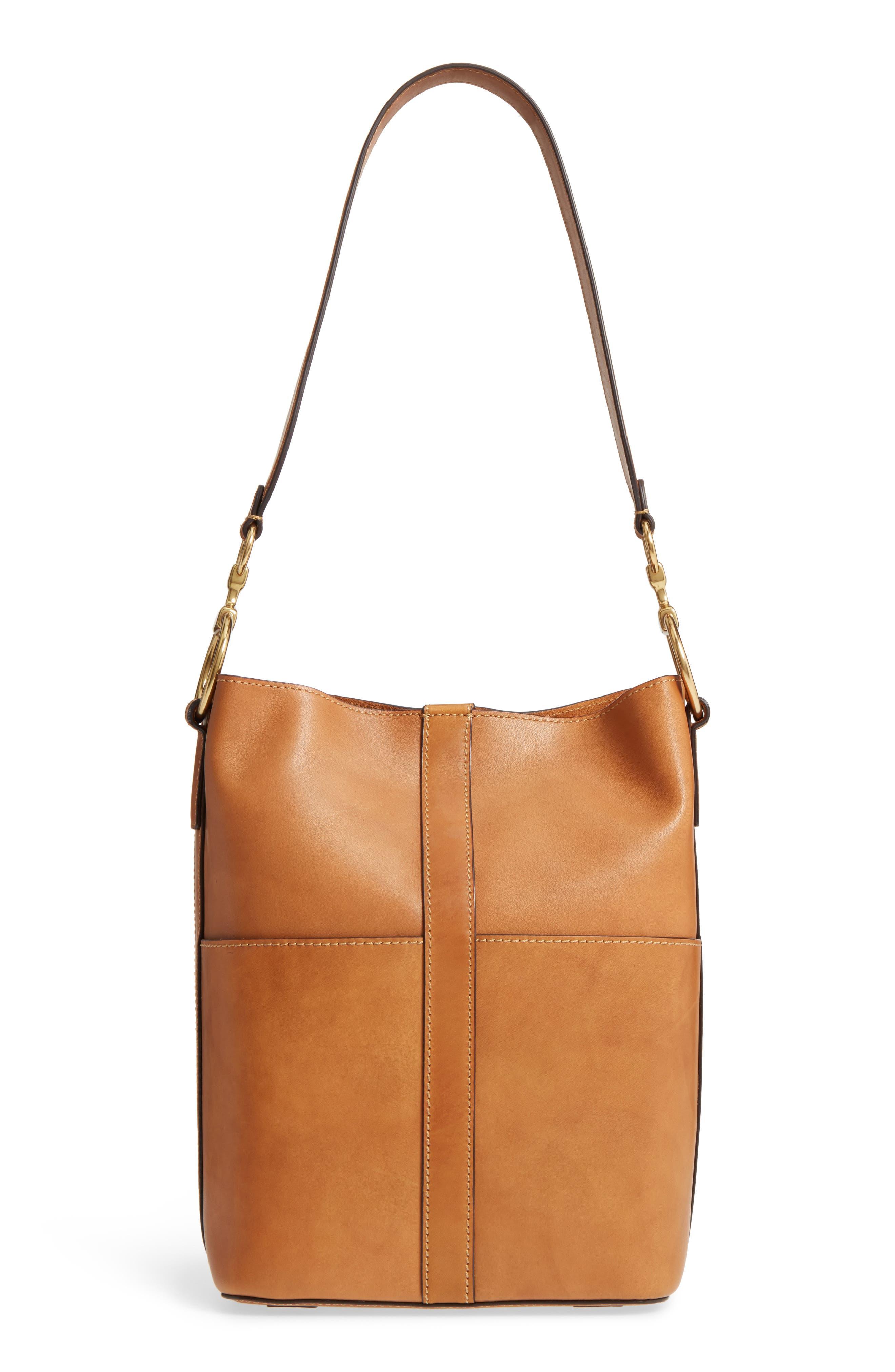 Alternate Image 1 Selected - Frye Ilana Leather Bucket Bag