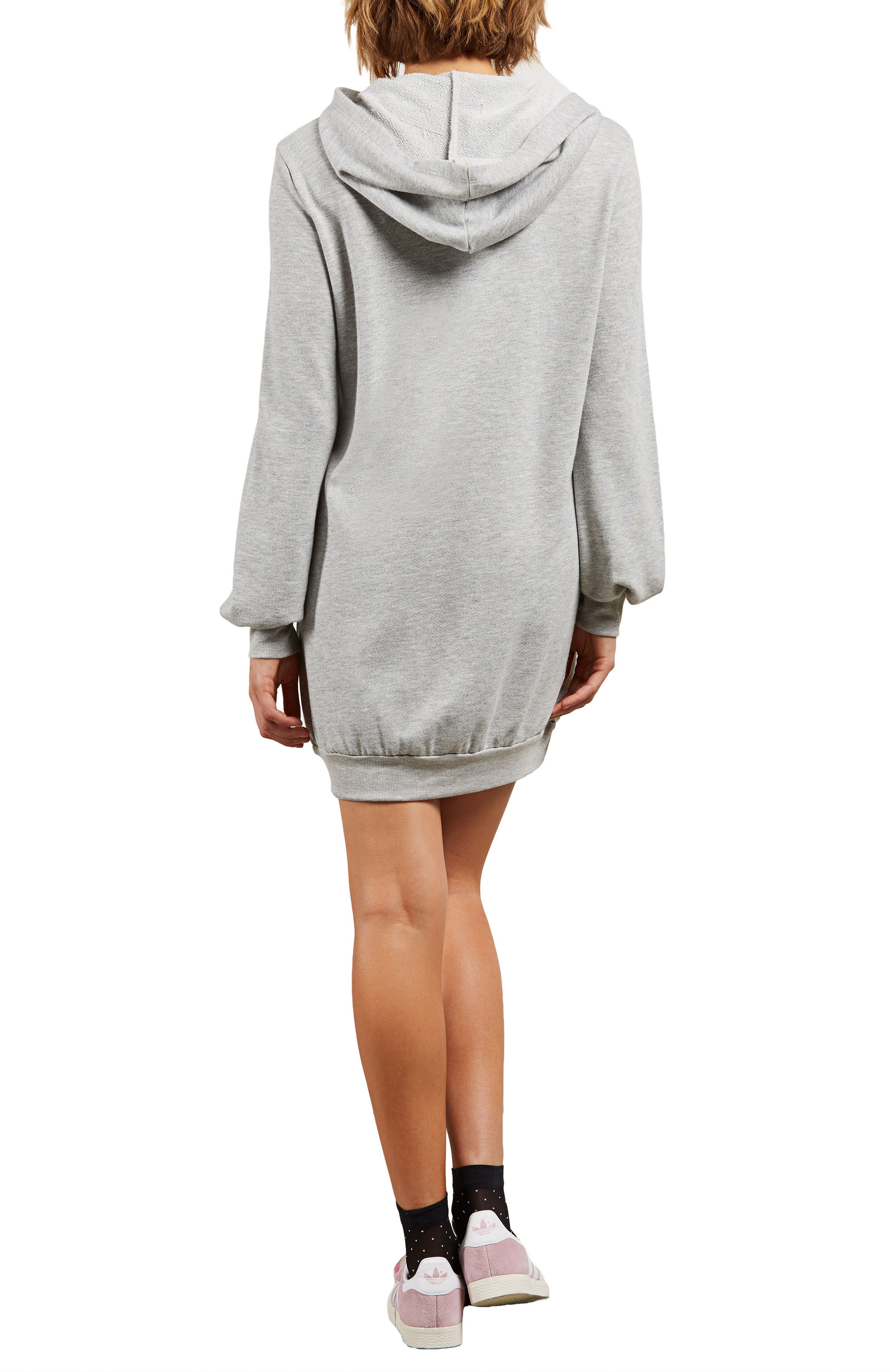 Alternate Image 2  - Volcom Sweatshirt Dress
