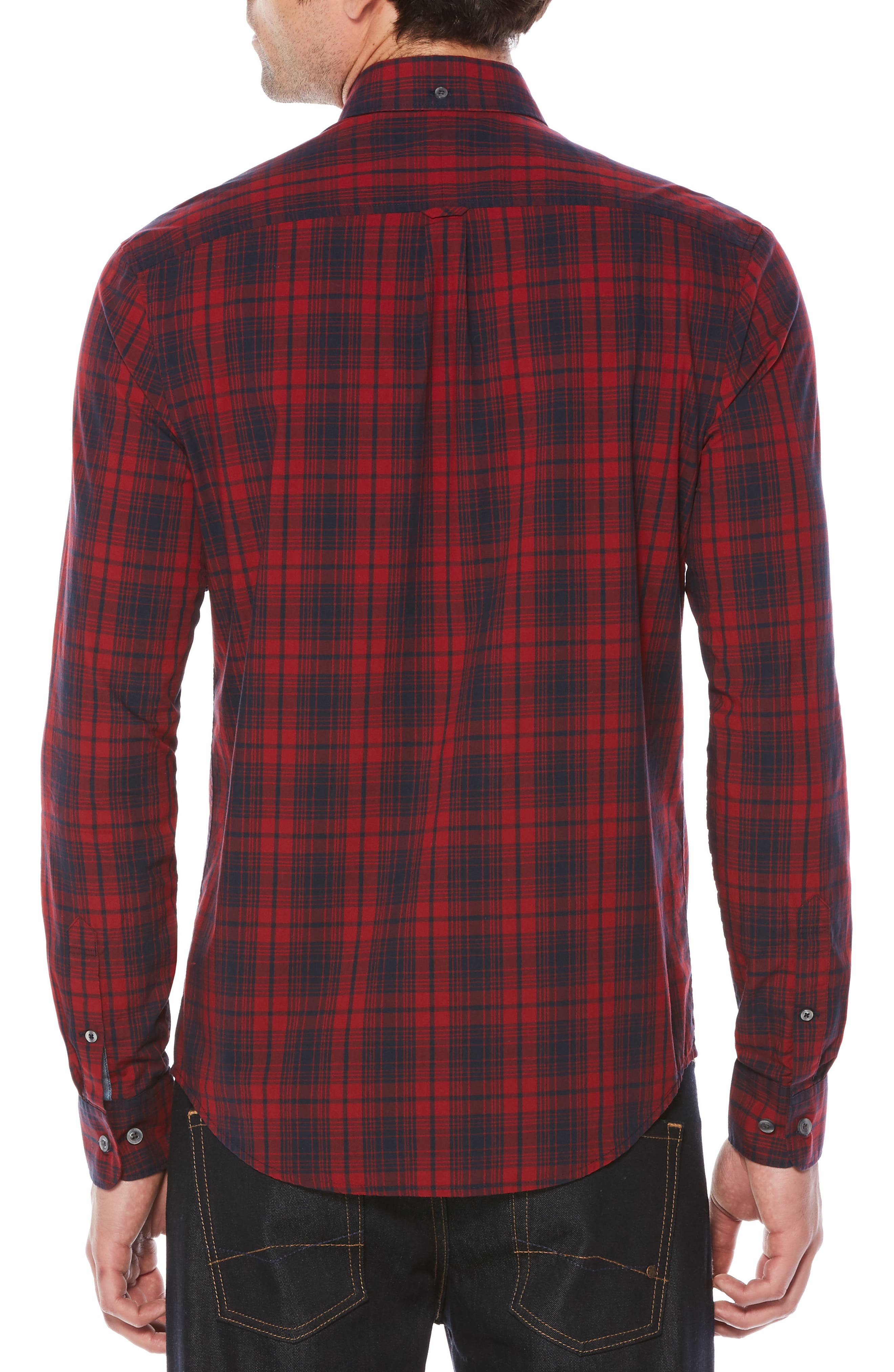 Alternate Image 2  - Original Penguin Heritage Slim Fit Plaid Shirt