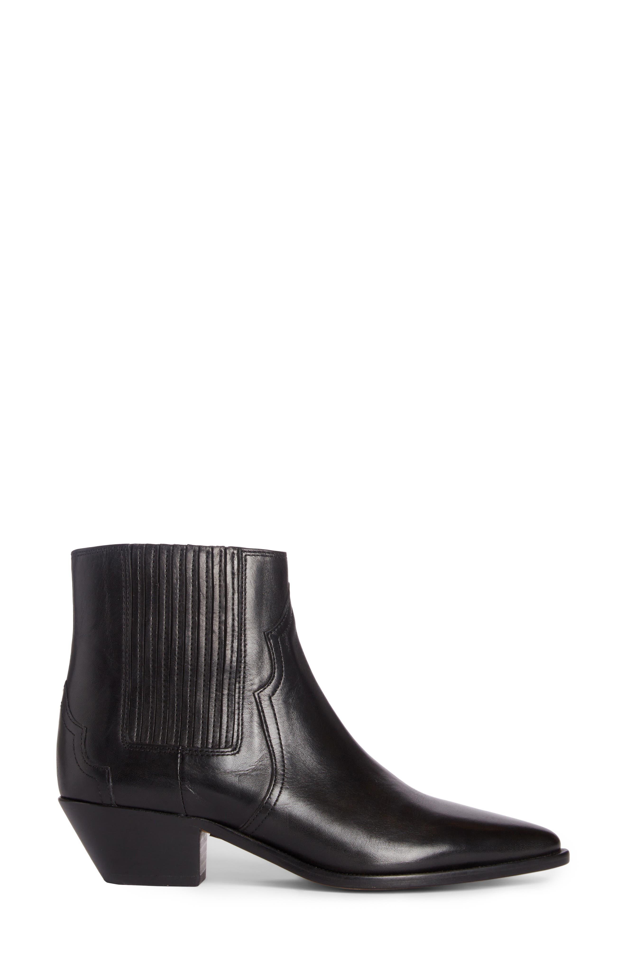 Derlyn Boot,                             Alternate thumbnail 4, color,                             Black