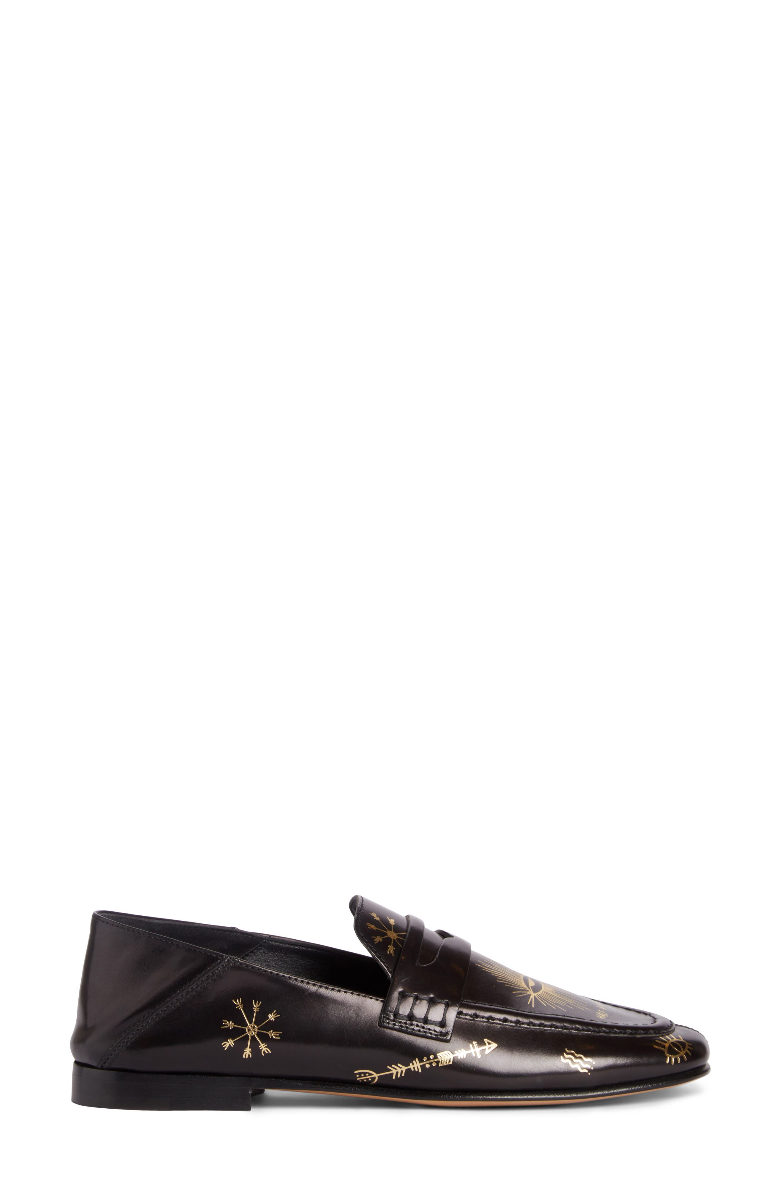 Alternate Image 2  - Isabel Marant Fezzy Print Convertible Loafer (Women)