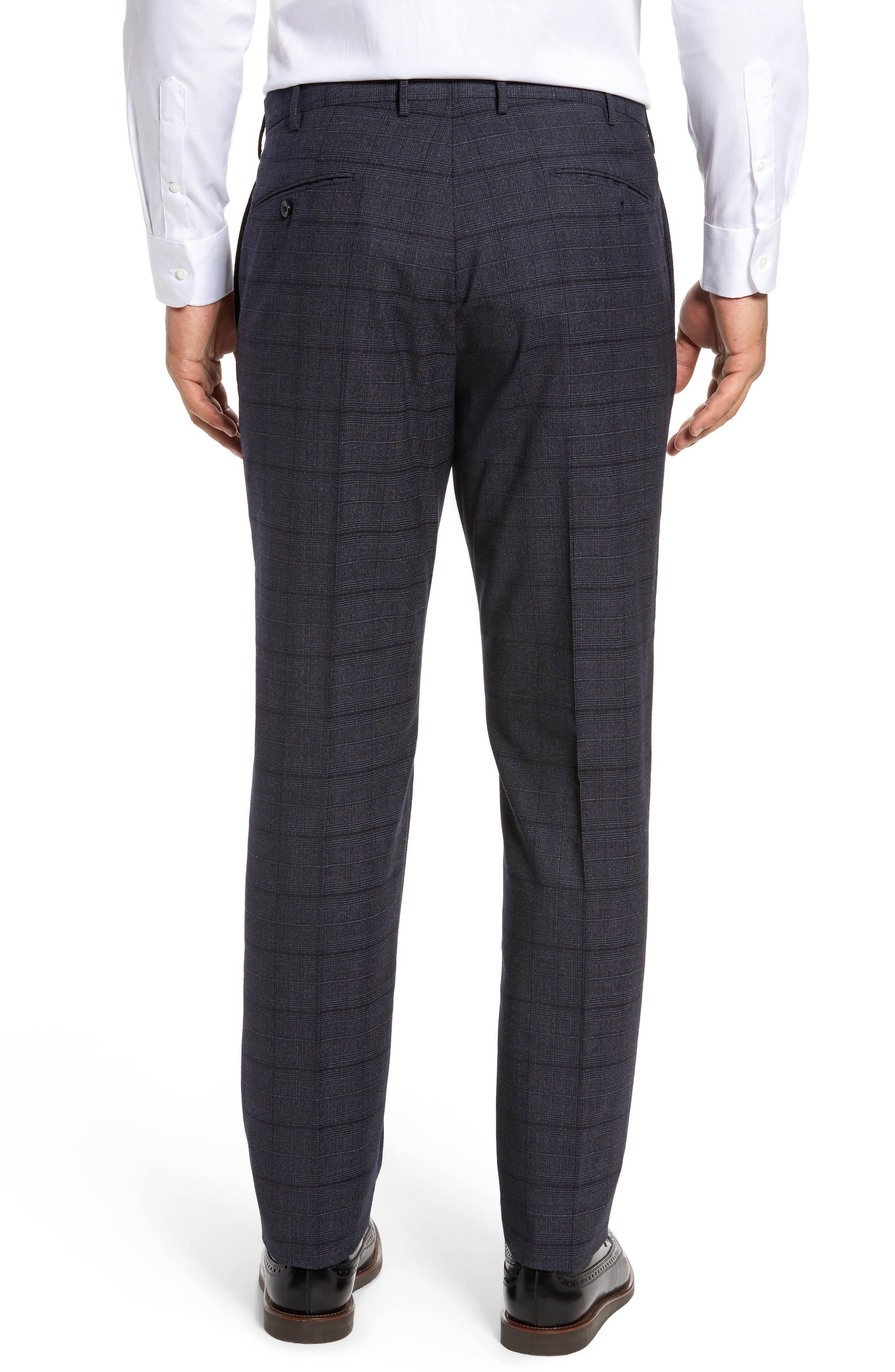 Alternate Image 3  - Incotex Benson Flat Front Trousers