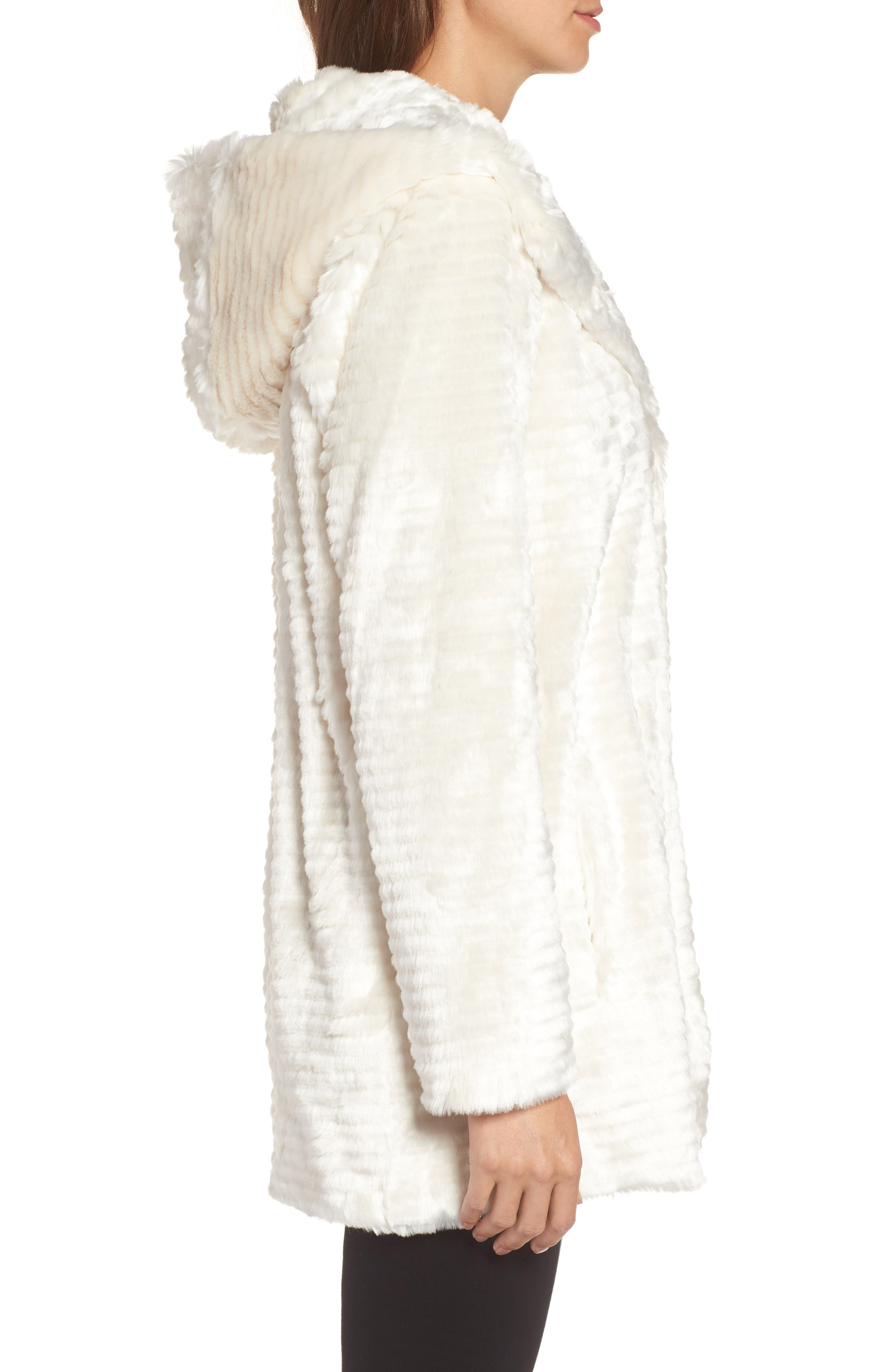 Alternate Image 3  - Vince Camuto Hooded Faux Fur Coat